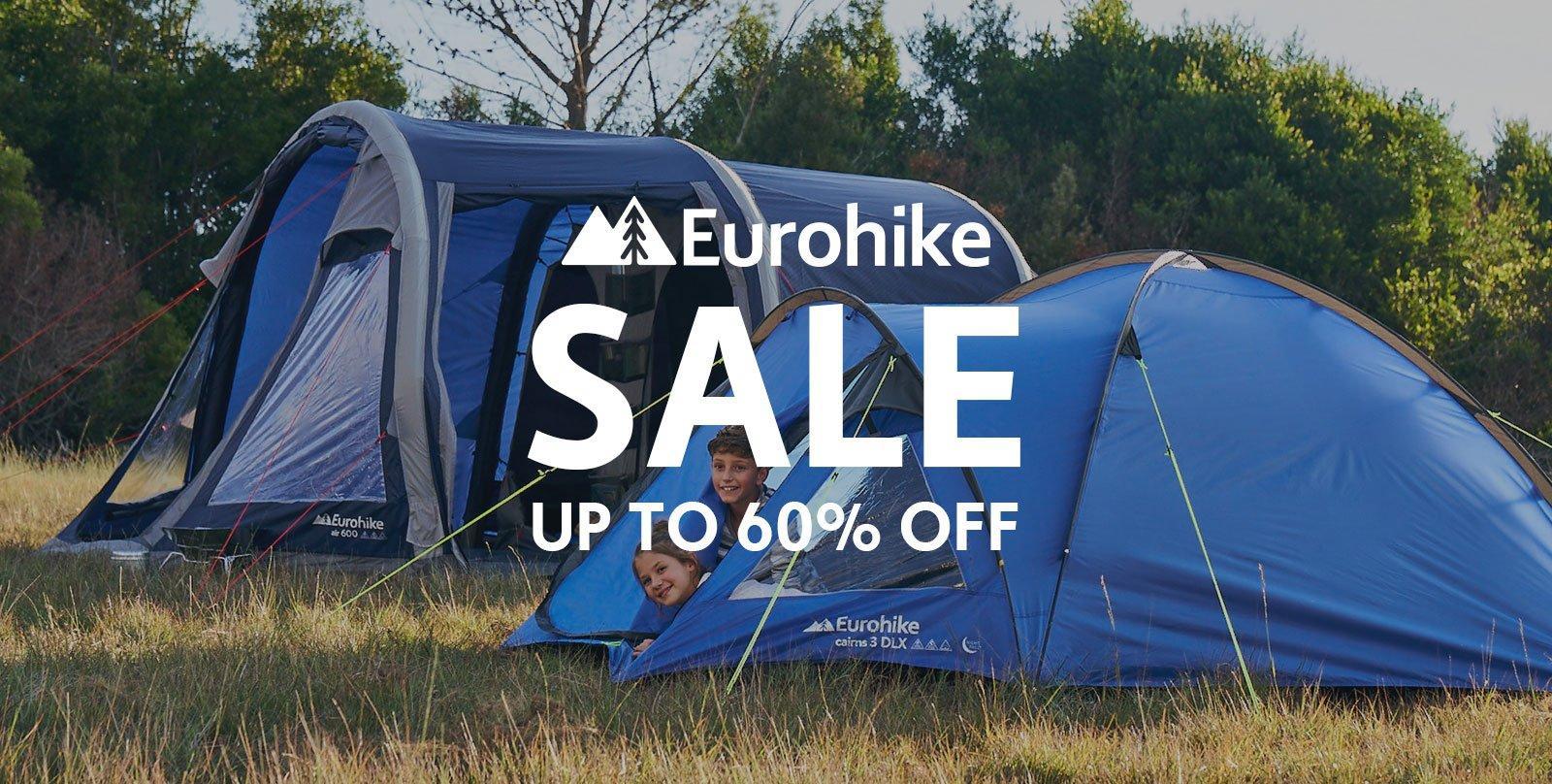 Up to 60% Off Eurohike