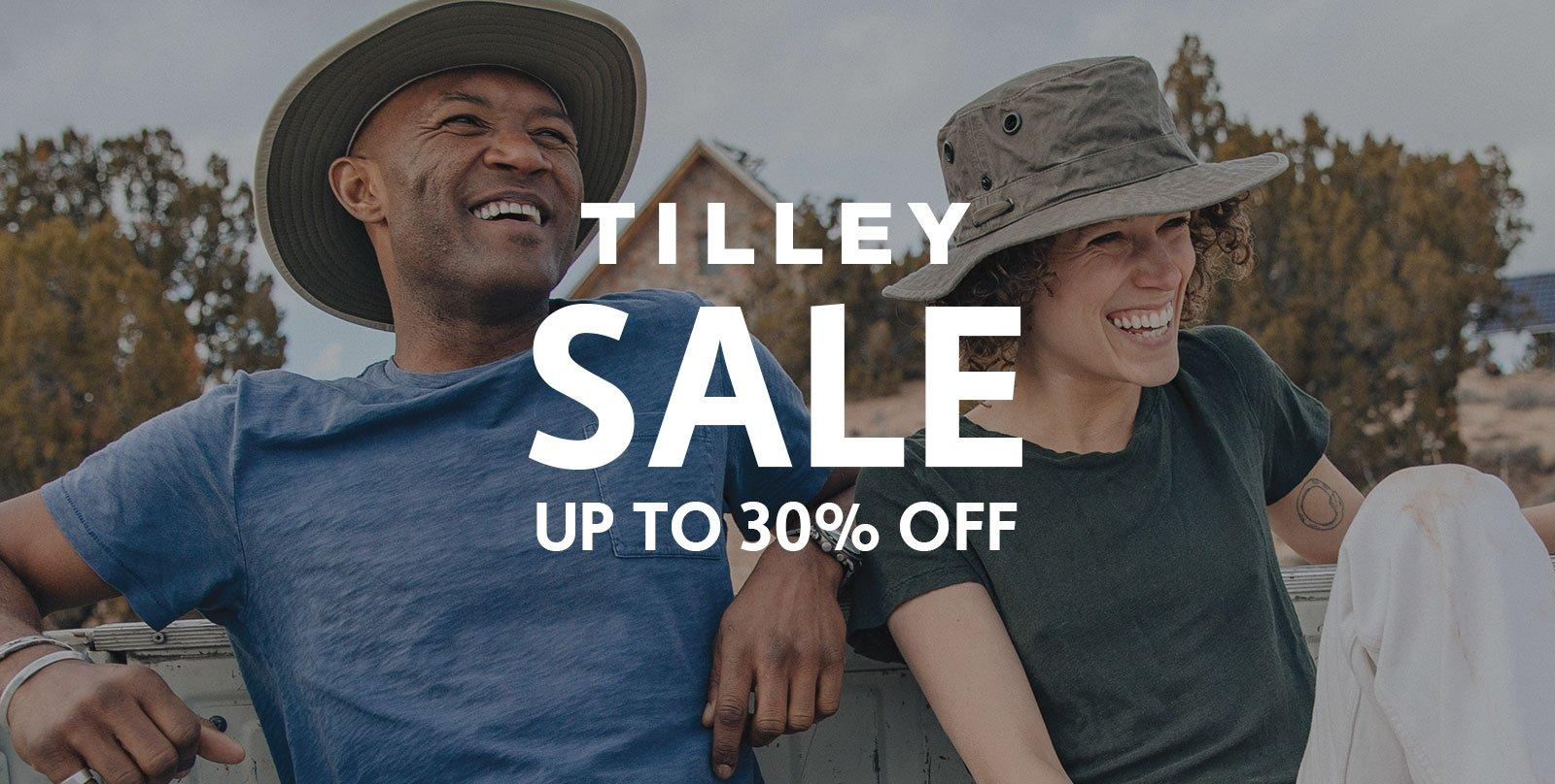 Up to 30% Off TILLEY