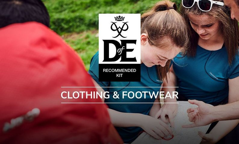 The Duke of Edinburgh's Award Recommended Kit | Clothing and Footwear
