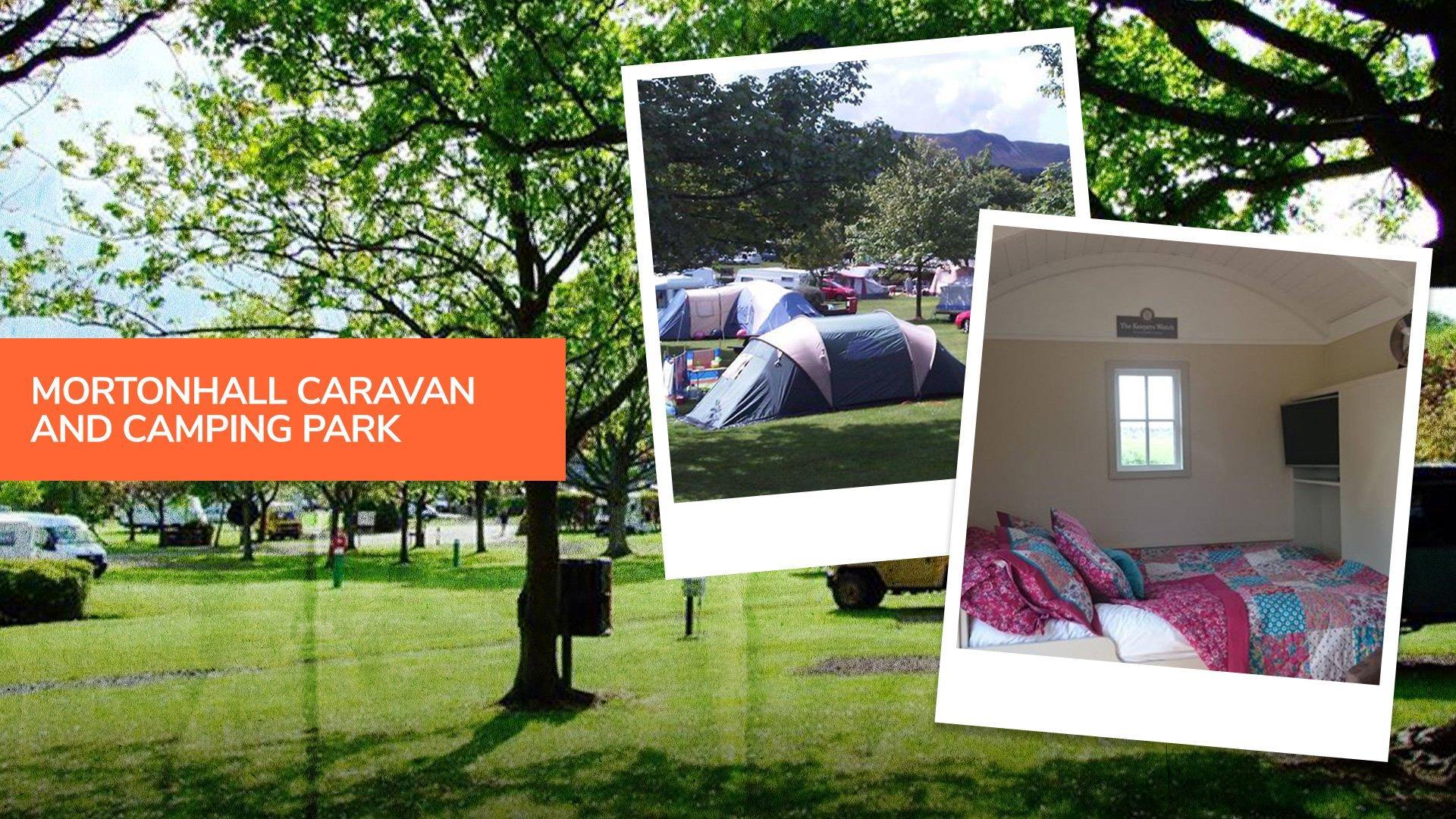 Mortonhall caravan and camping park, one of the top campsites near Edinburgh