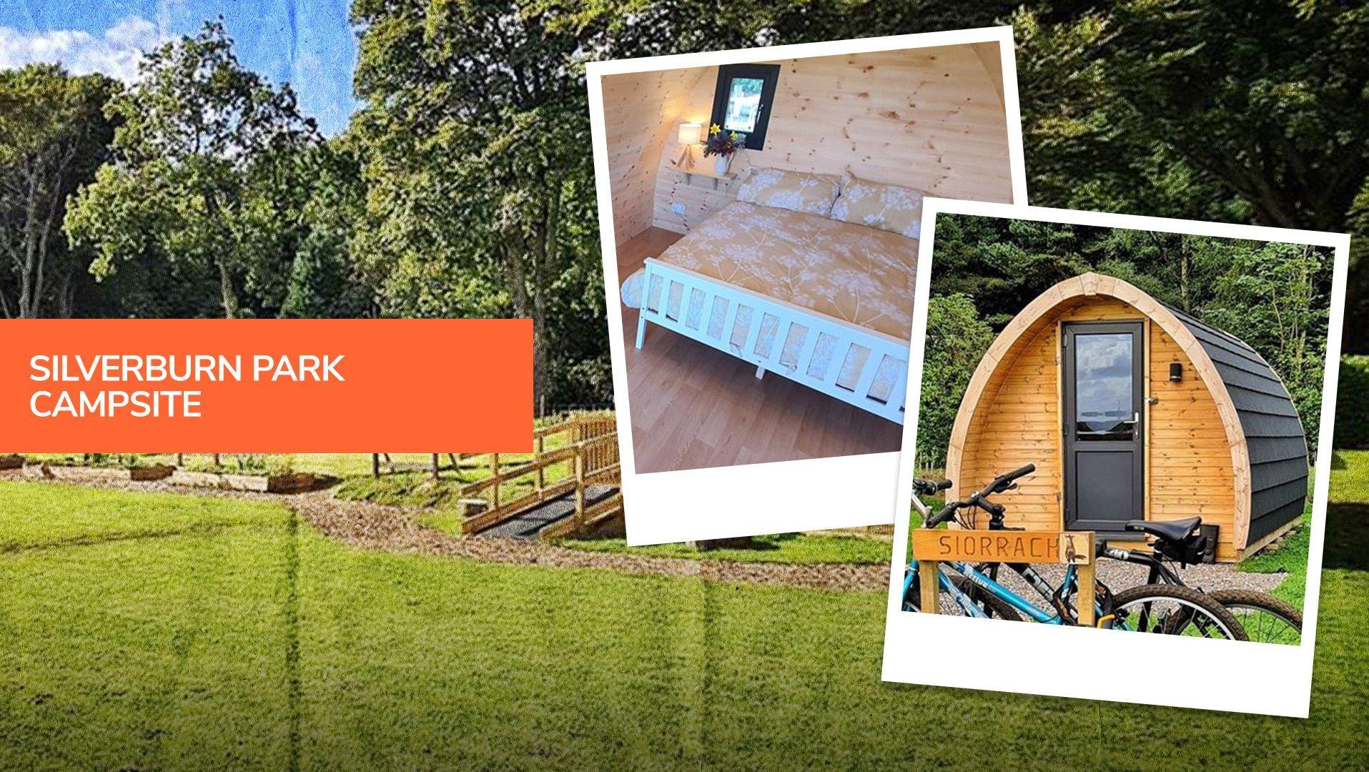 Silverburn Park, one of the best camping in Edinburgh destinations