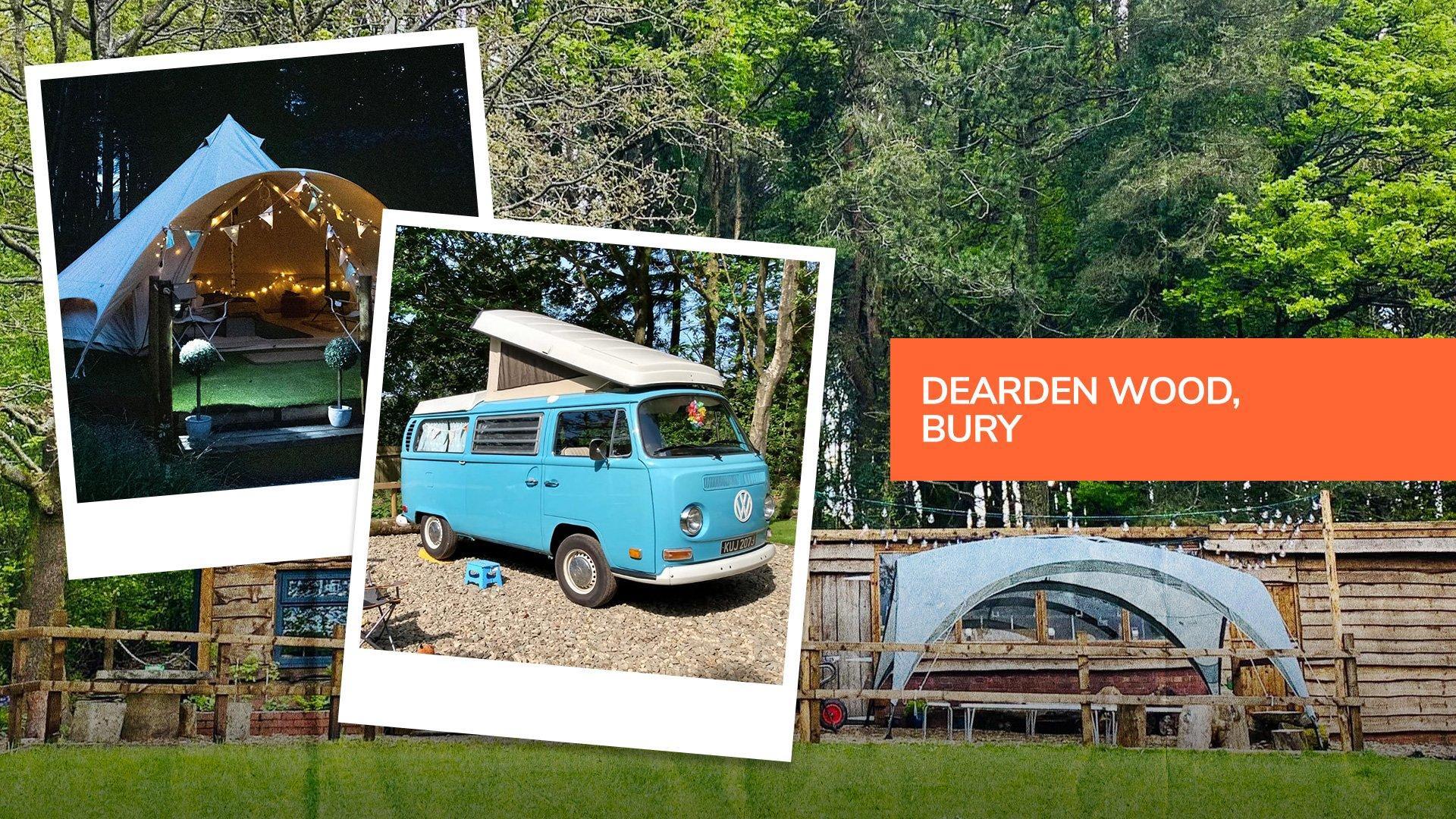 Dearden Wood, a hidden gem campsite in Bury, Greater Manchester