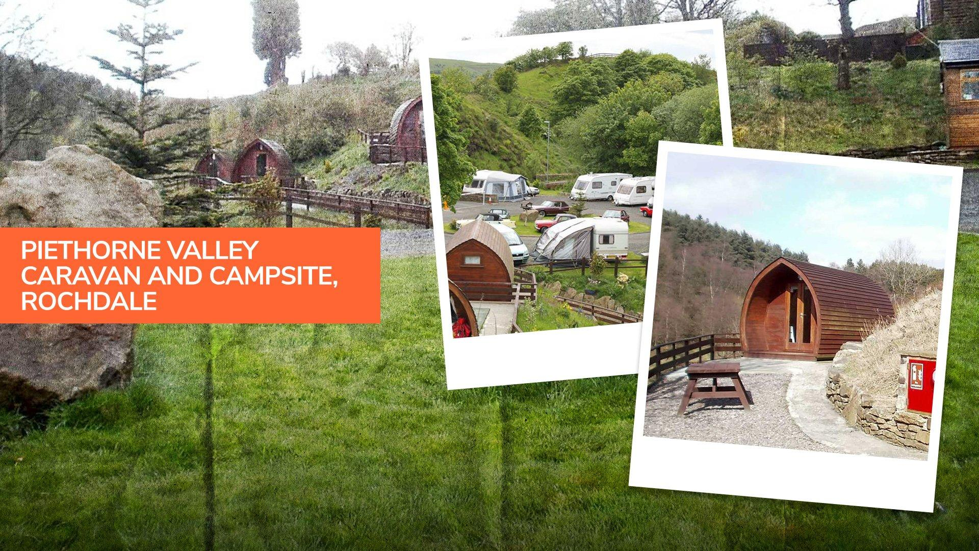 Piethorne Valley Caravan and Camping Site in Rochdale, a peaceful campsite just outside Manchester