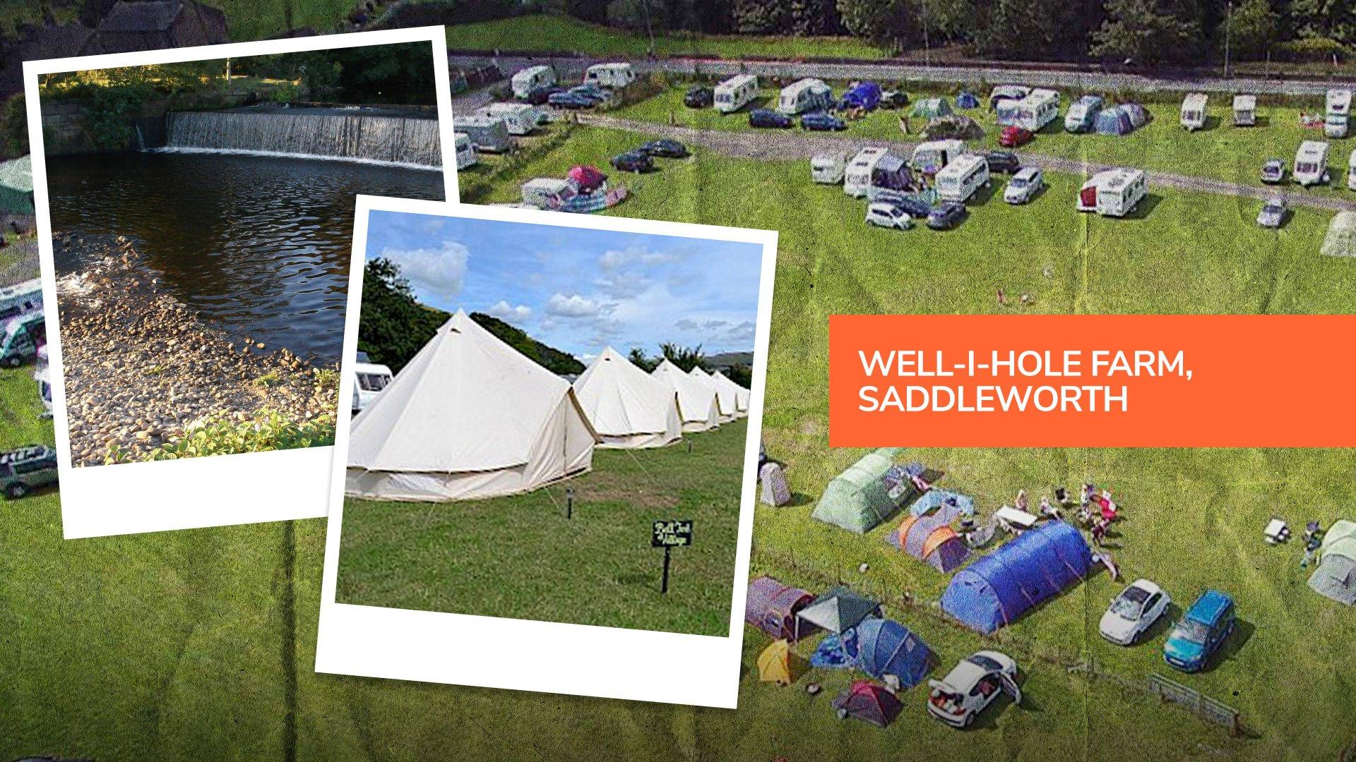 Well-i-Hole Farm in Saddleworth, a top campsite near Manchester