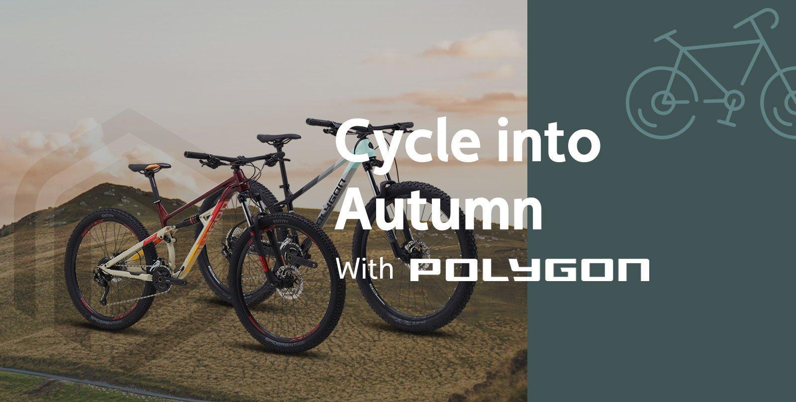 Cycle into Autumn with Polygon Bikes