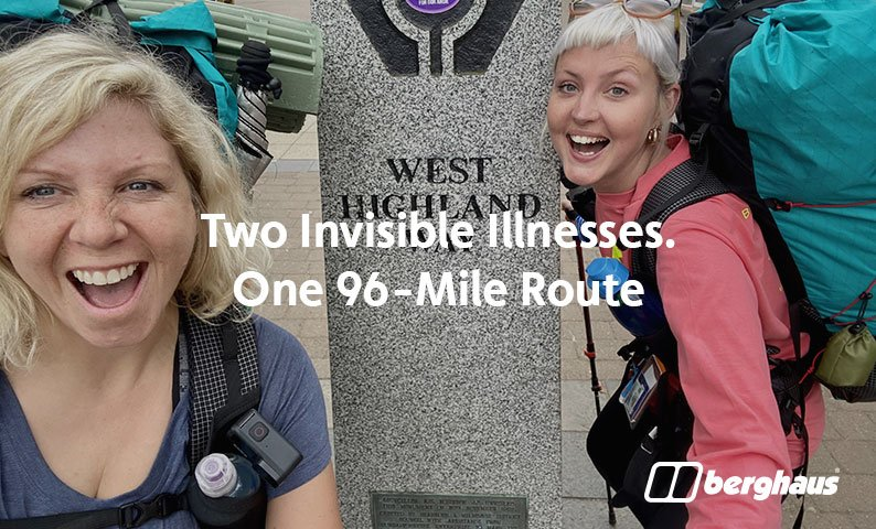 Two Invisible Illnesses. One 96-Mile Route