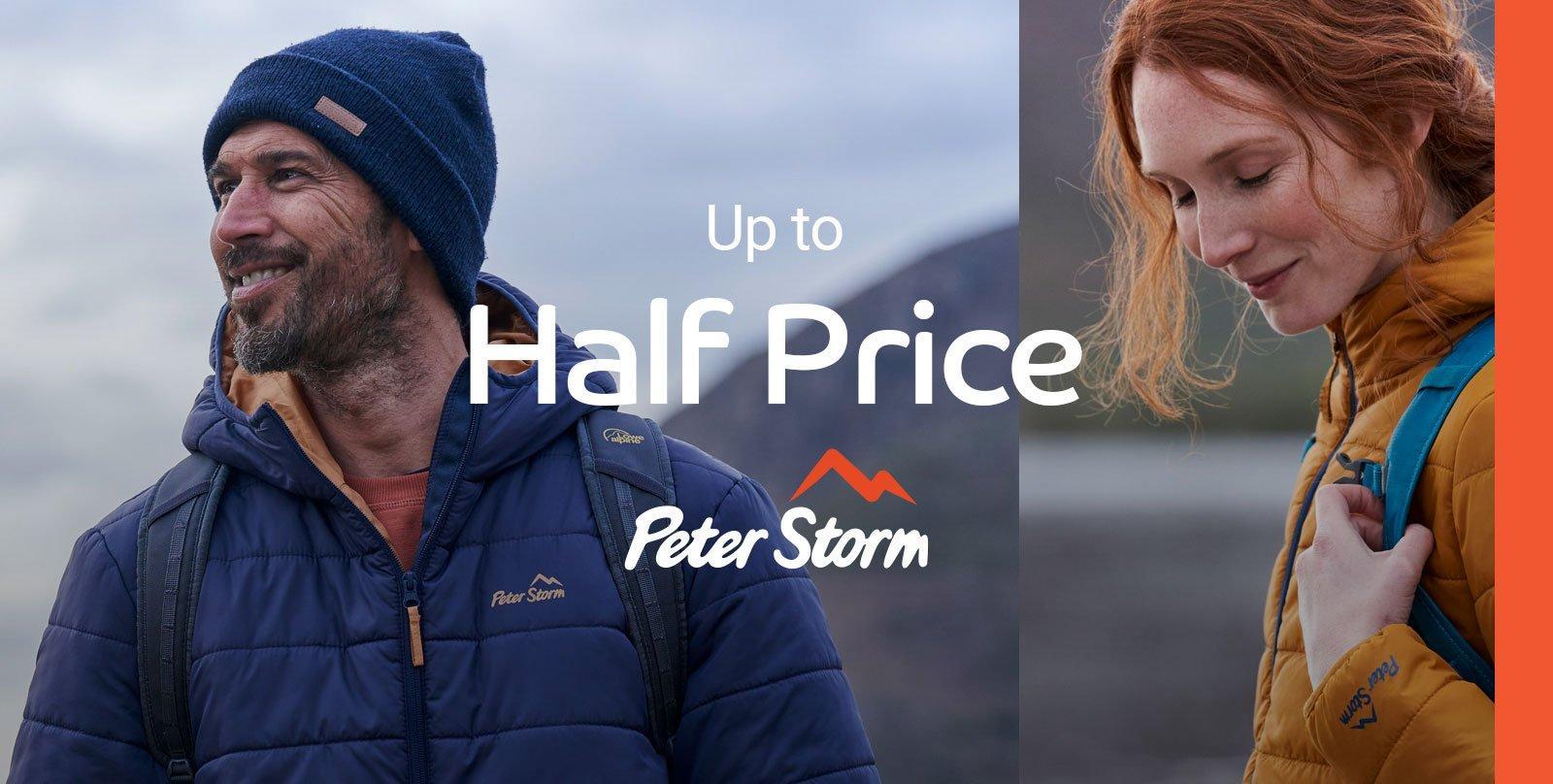 Up to Half Price Peter Storm