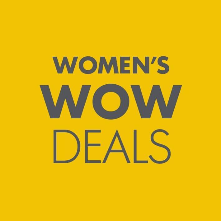 SHOP WOMENS WOW DEALS