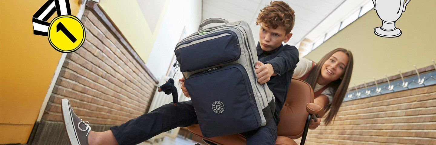 Everything you need to know about school bags | Kipling