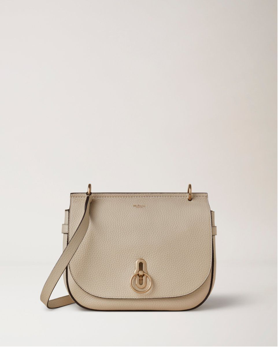 Soft Amberley Satchel Chalk