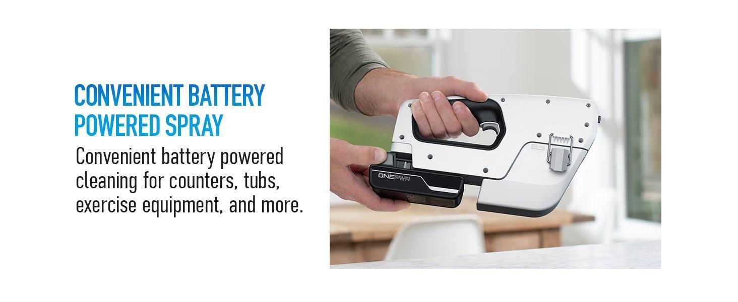 Convenient Battery Powered Spray