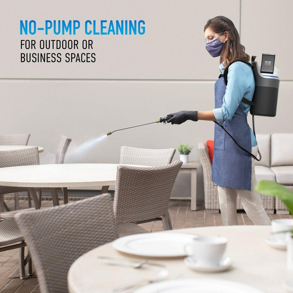 Cordless Backpack Sprayer with ONEPWR Rechargeable Battery2