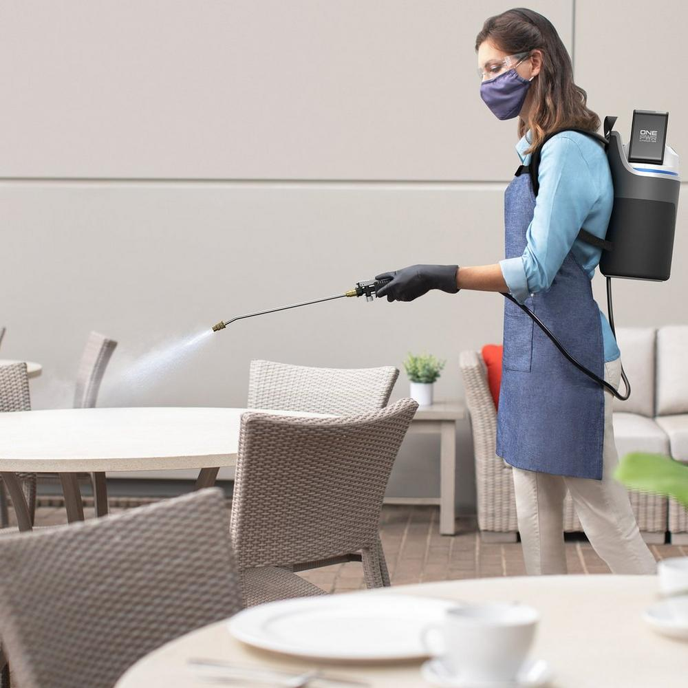 Cordless Backpack Sprayer with ONEPWR Rechargeable Battery6