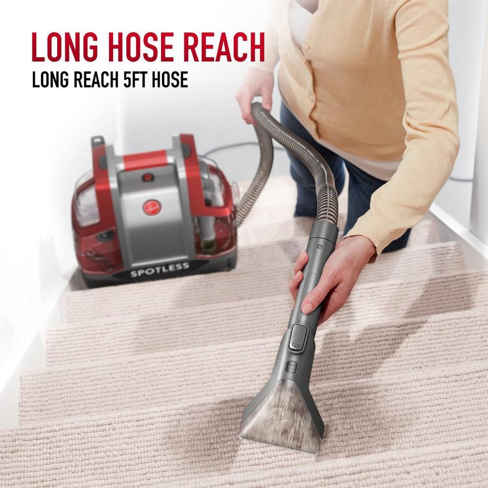 Spotless Portable Carpet & Upholstery Cleaner5