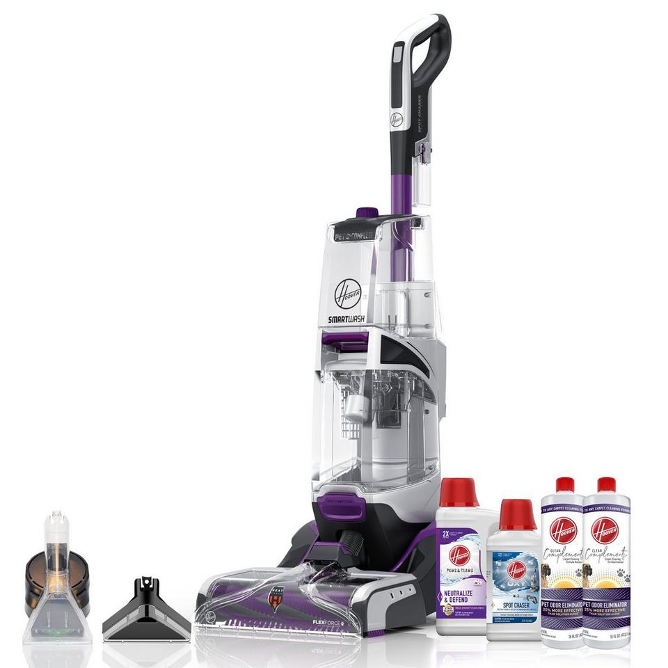 SmartWash PET Complete Automatic Carpet Cleaner Bundle