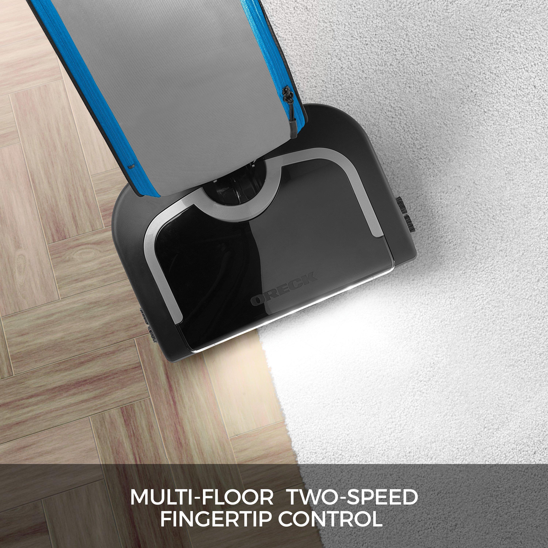 Oreck HEPA Swivel Upright Bagged Vacuum Cleaner4