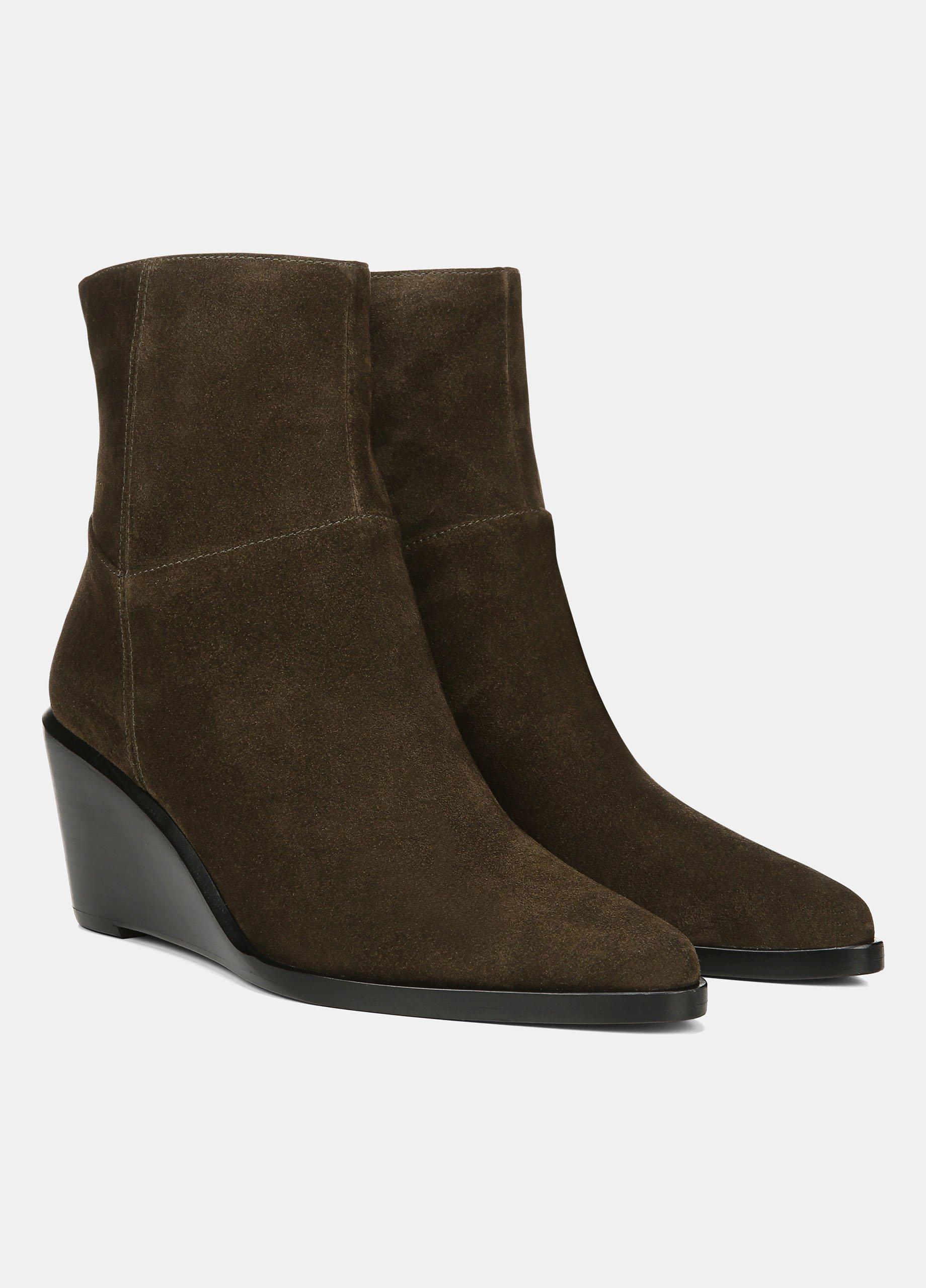 Suede Mavis Ankle Boot