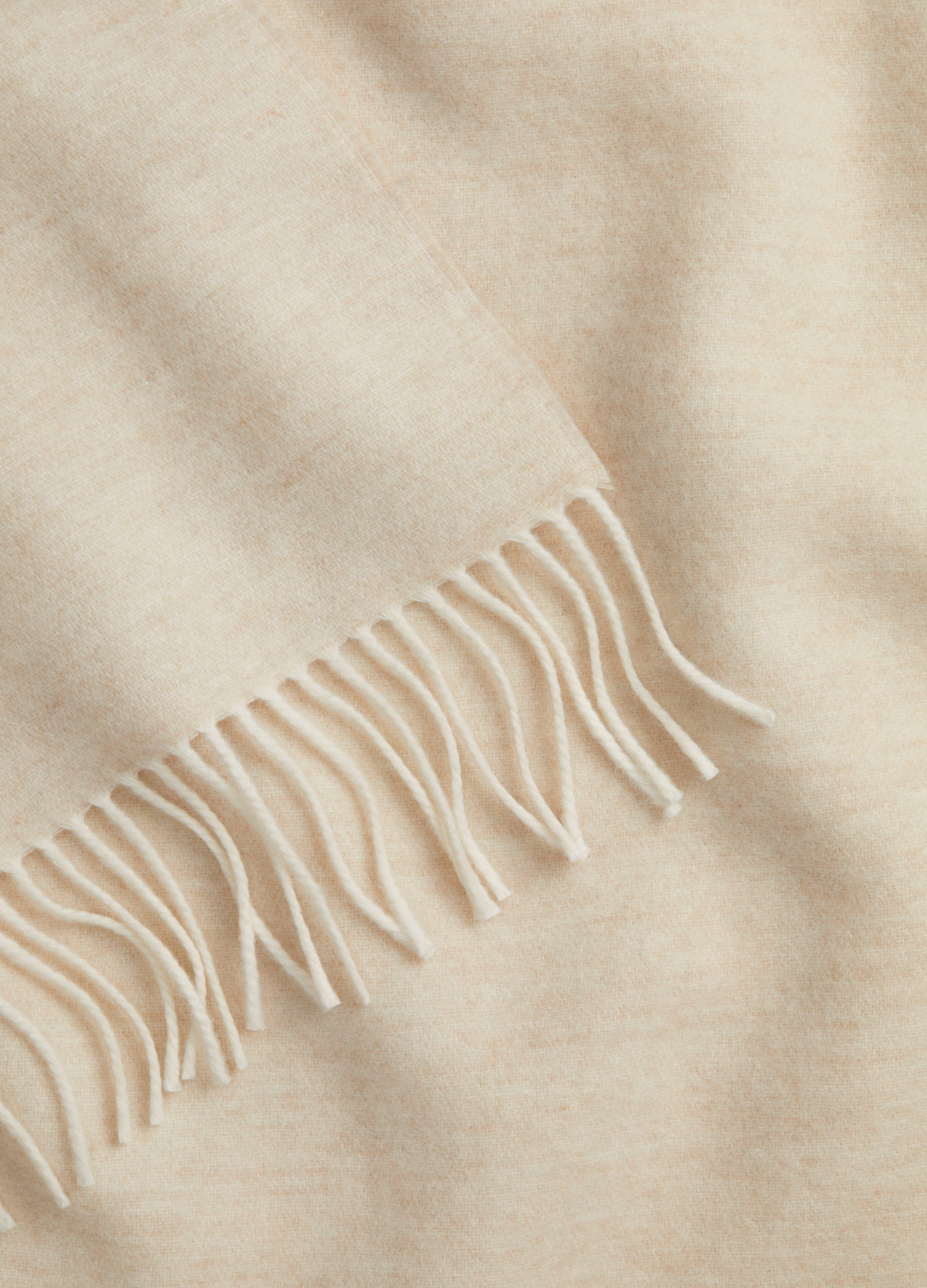 Wool Marl Blanket