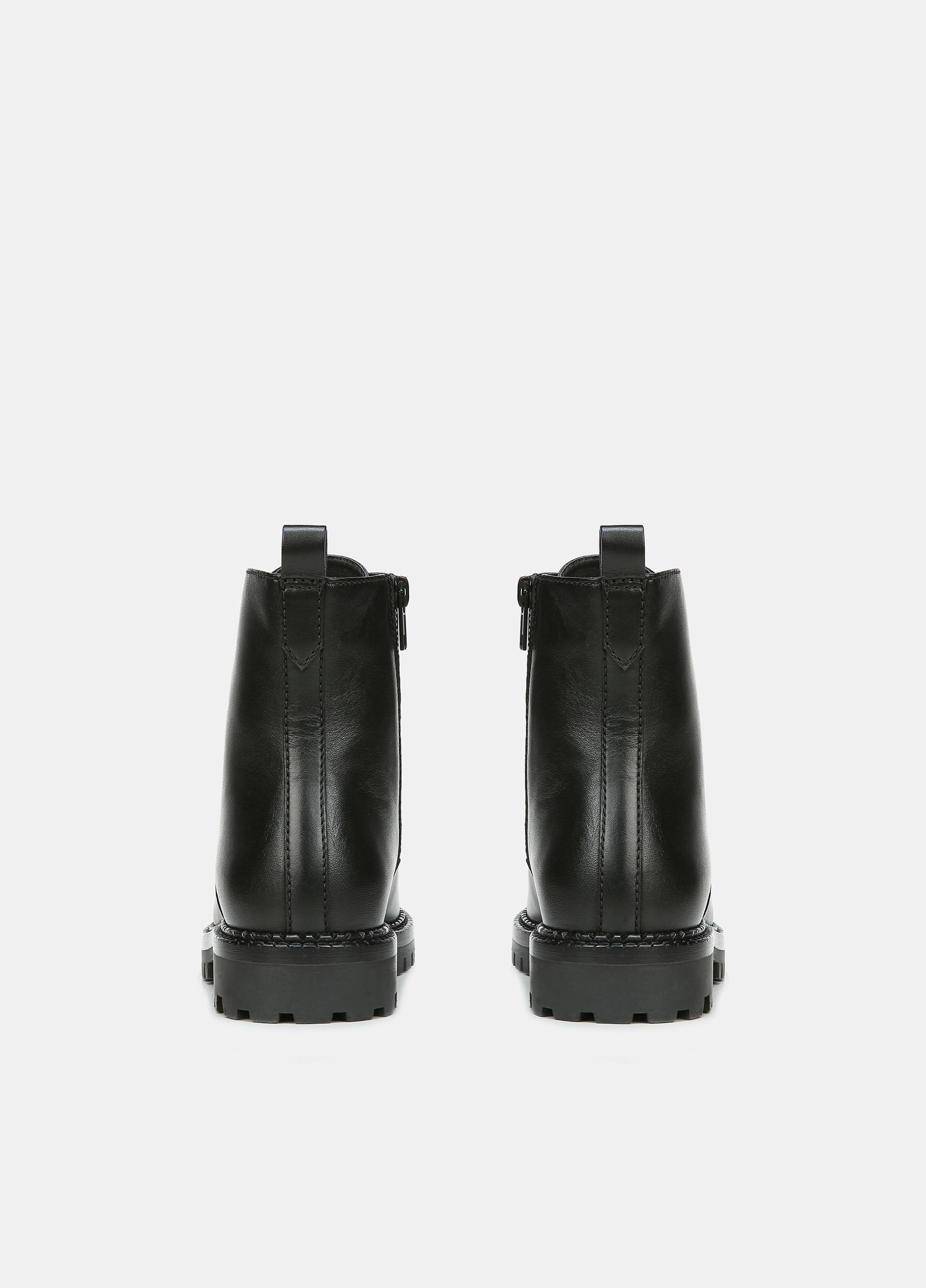 Leather Cabria Lug Boot