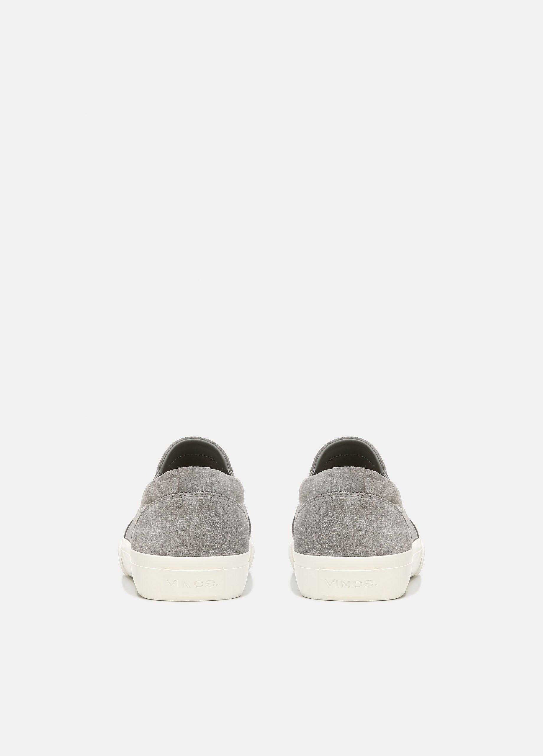 Fletcher Perforated Suede Sneaker
