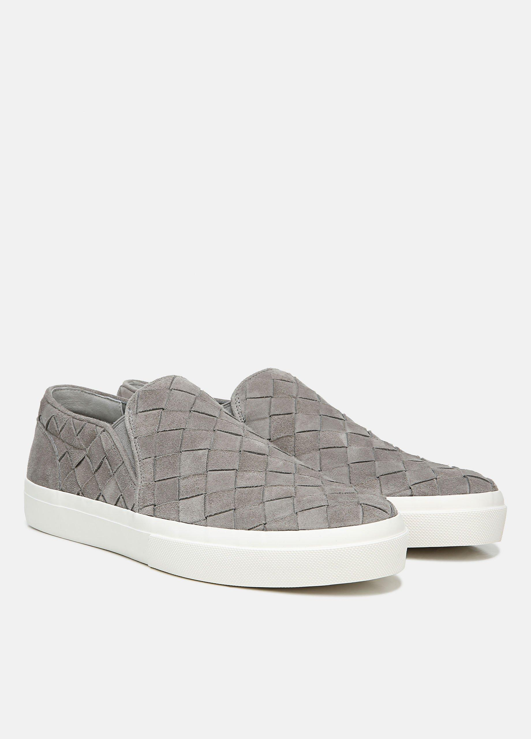 Woven Suede Fletcher Sneaker