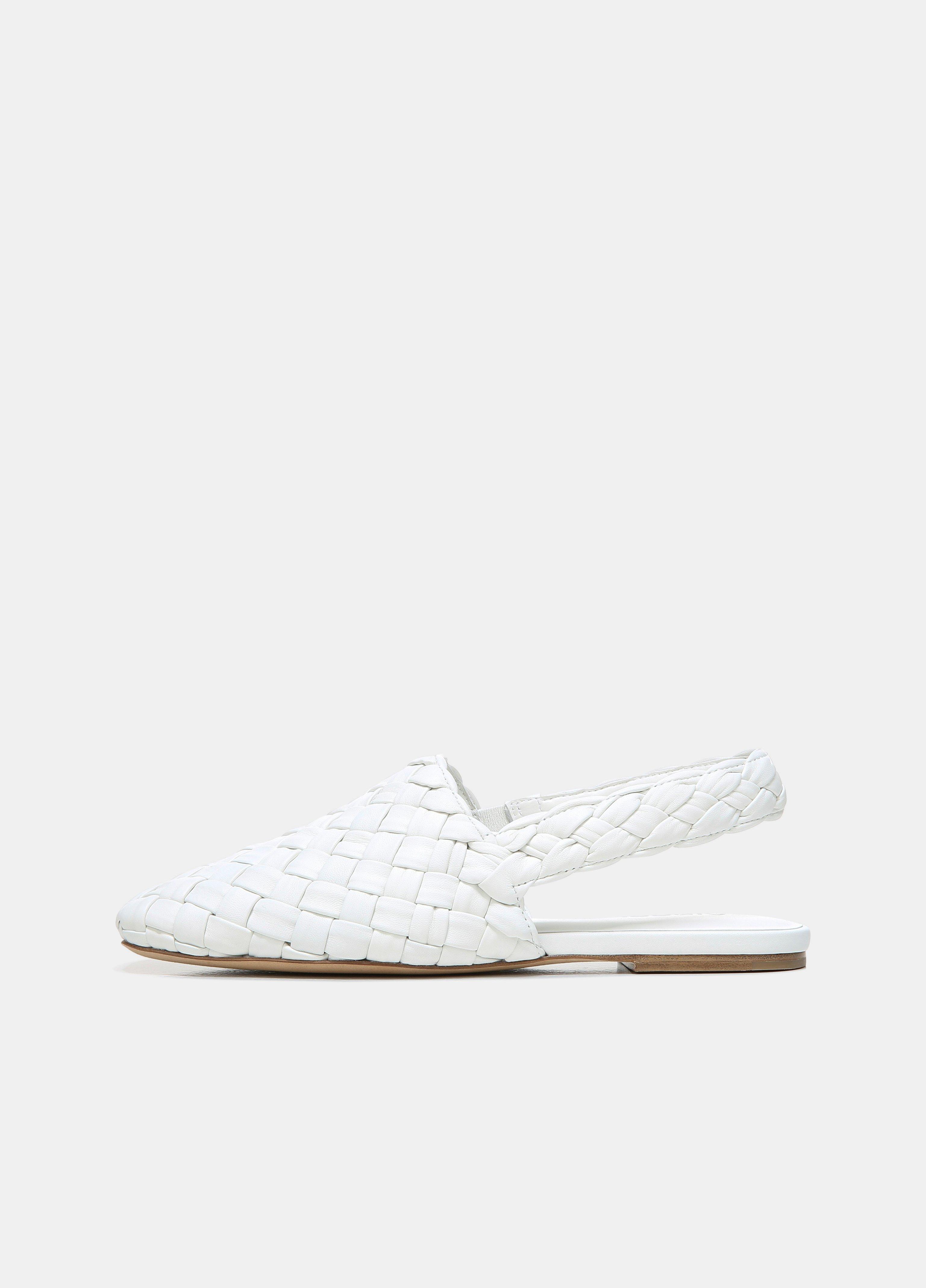 Cadot Leather Woven Shoe