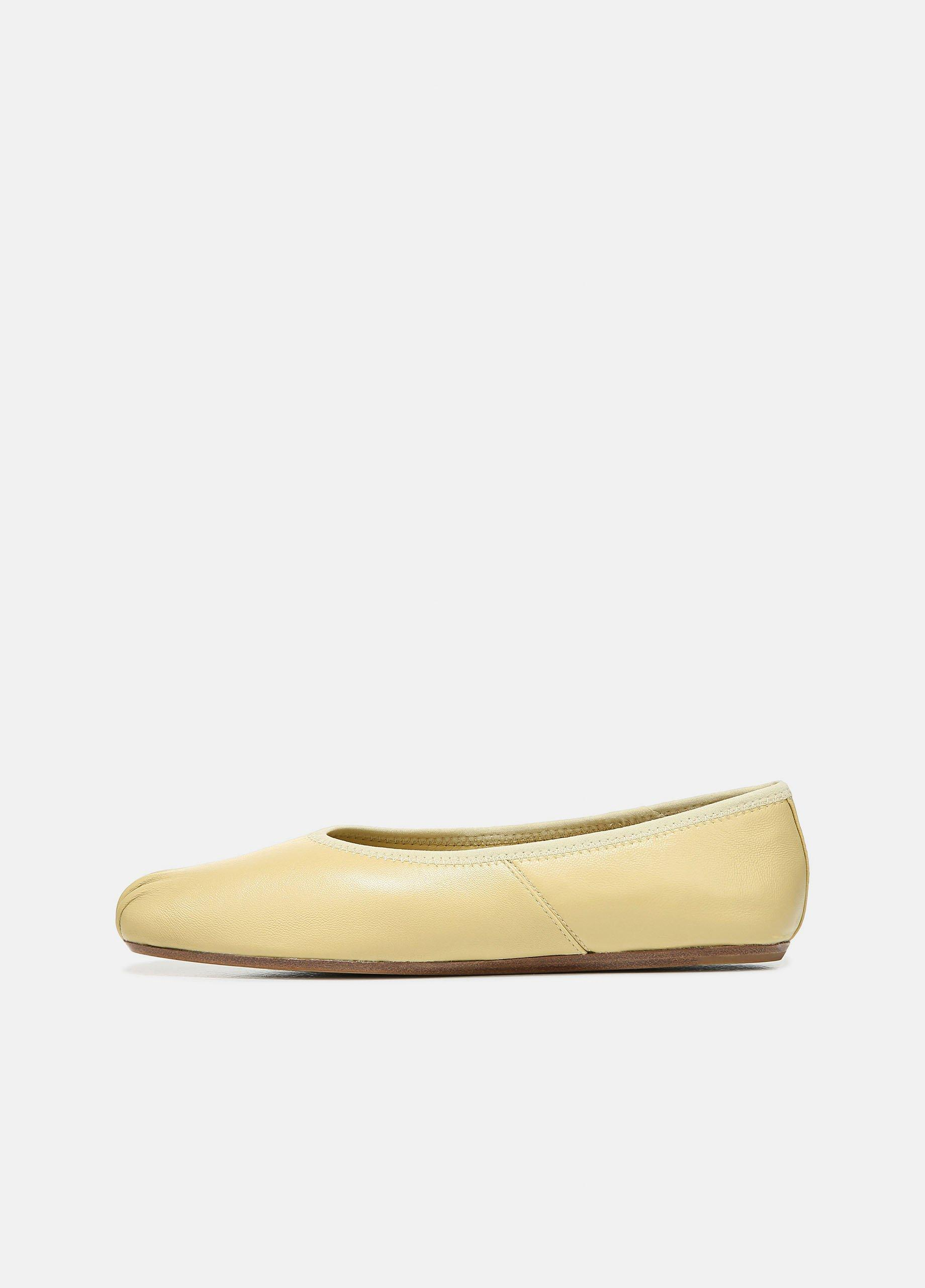 Kiana Leather Flat