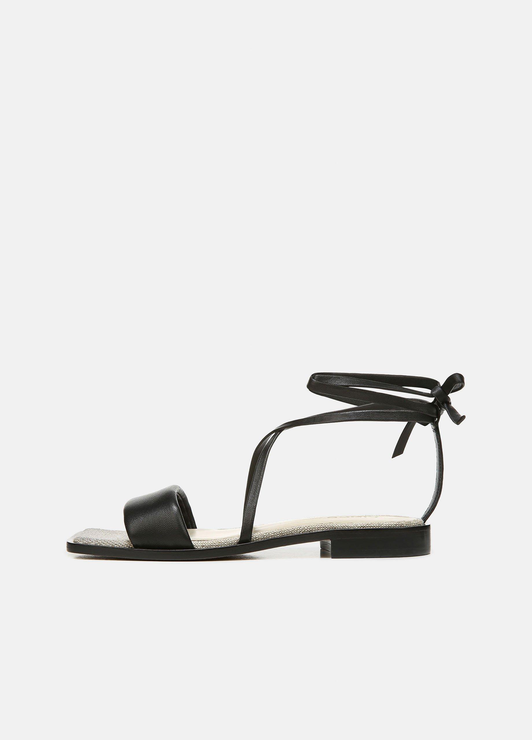 Layla Leather Wrap Sandal