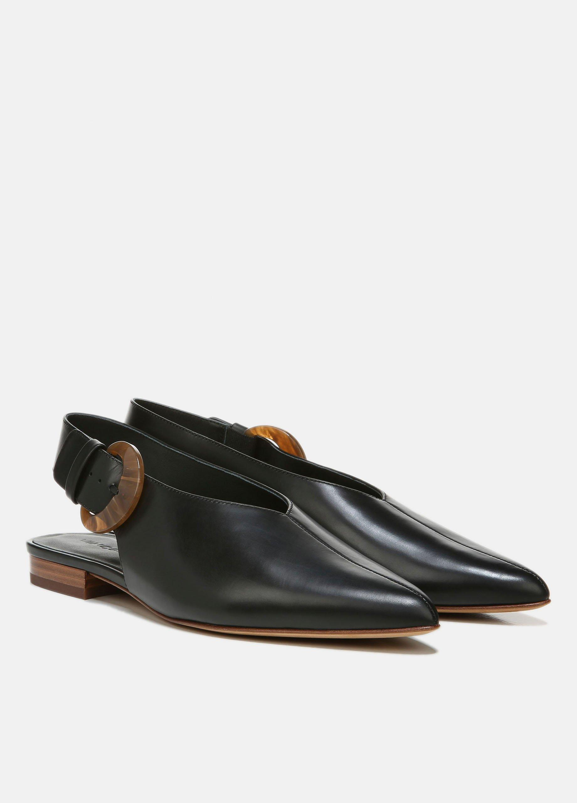 Cecily Leather Buckle Shoe