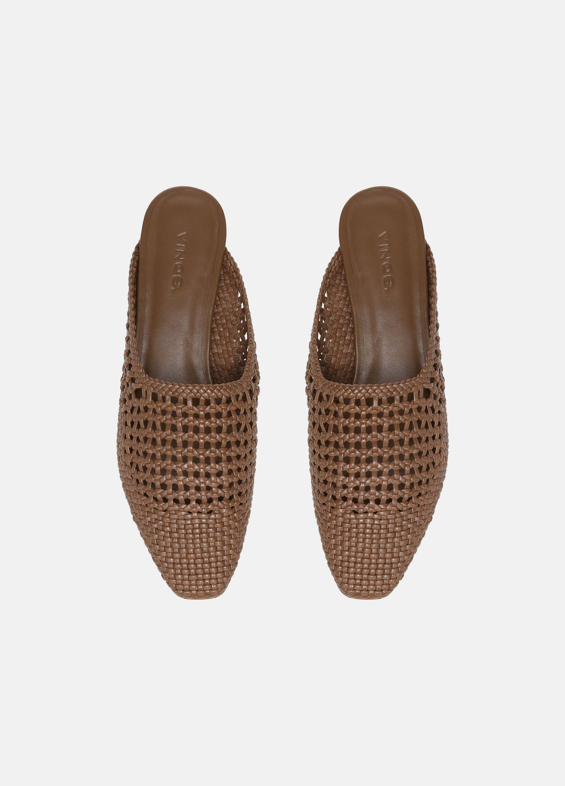Barrett Woven Leather Flat