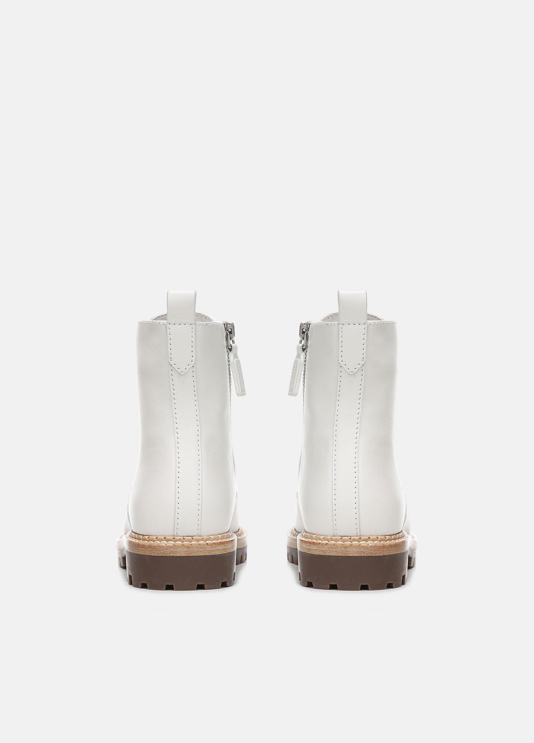Cabria Leather Lug Boot