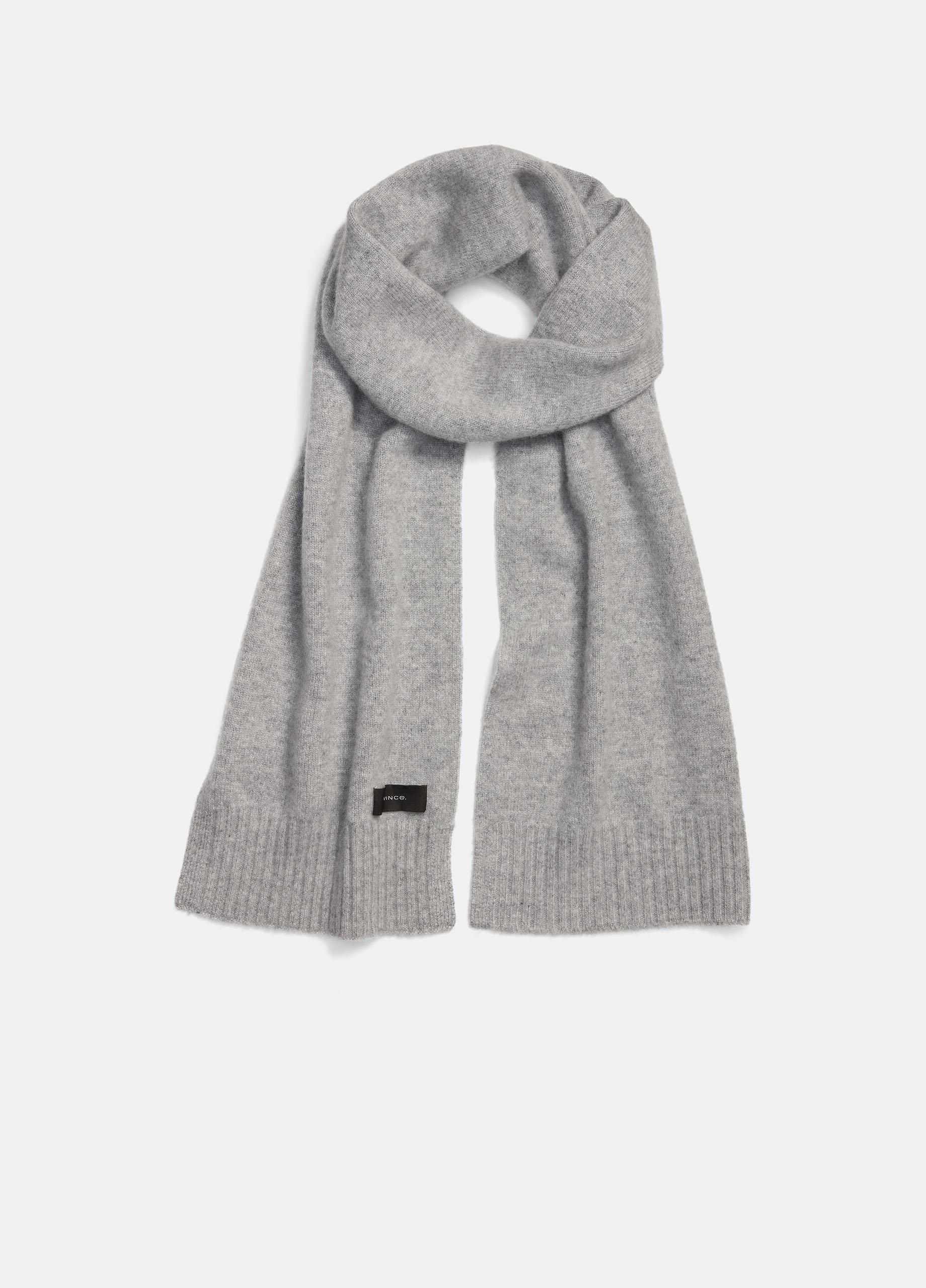 Boiled Cashmere Scarf