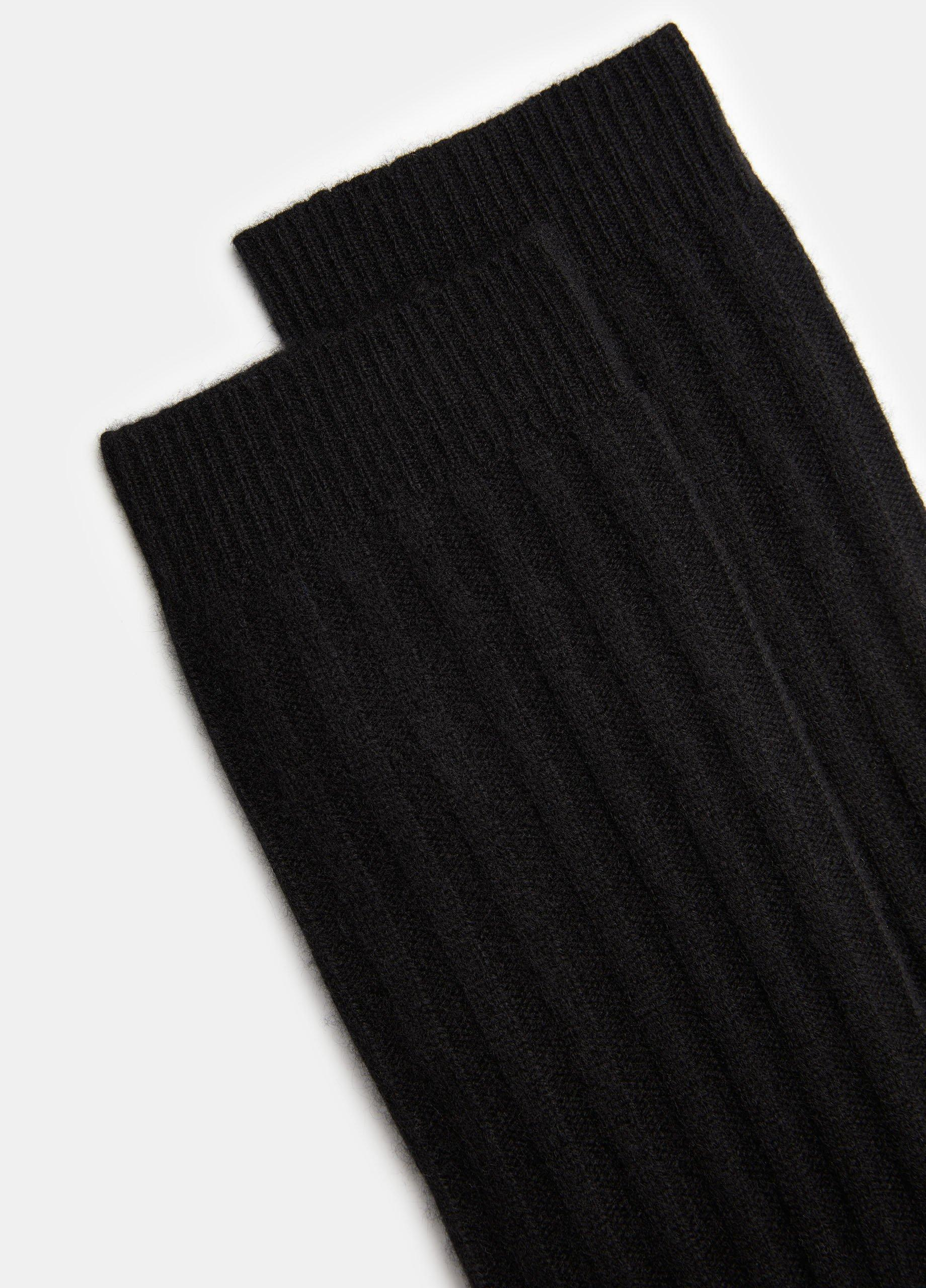 Boiled Cashmere Sock