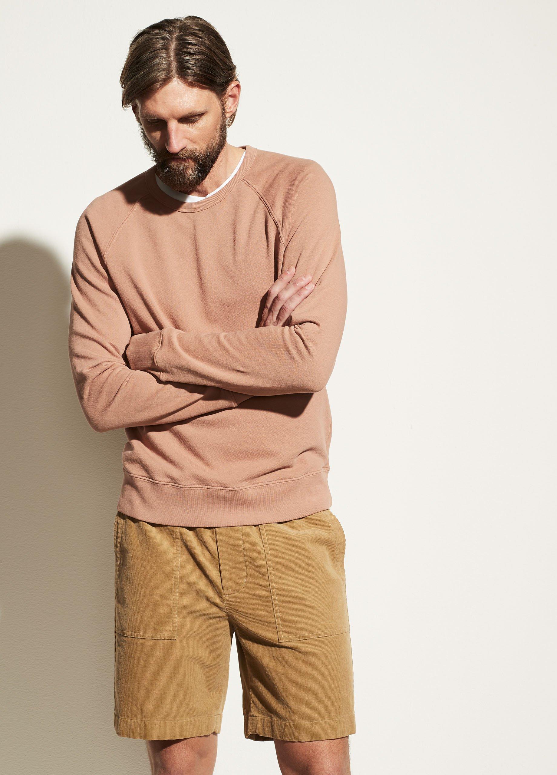Garment Dye Long Sleeve Crew