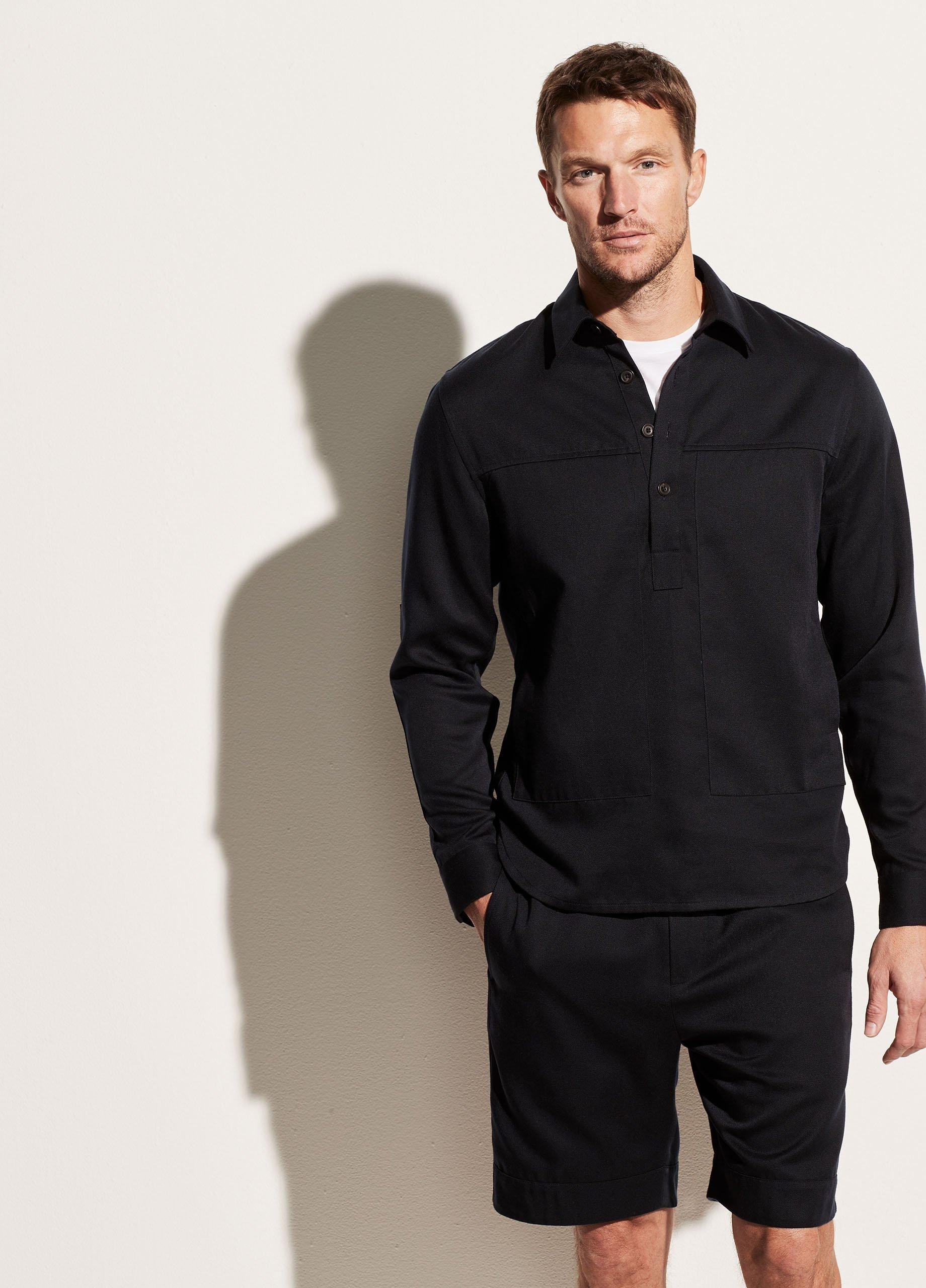 Twill Popover Long Sleeve