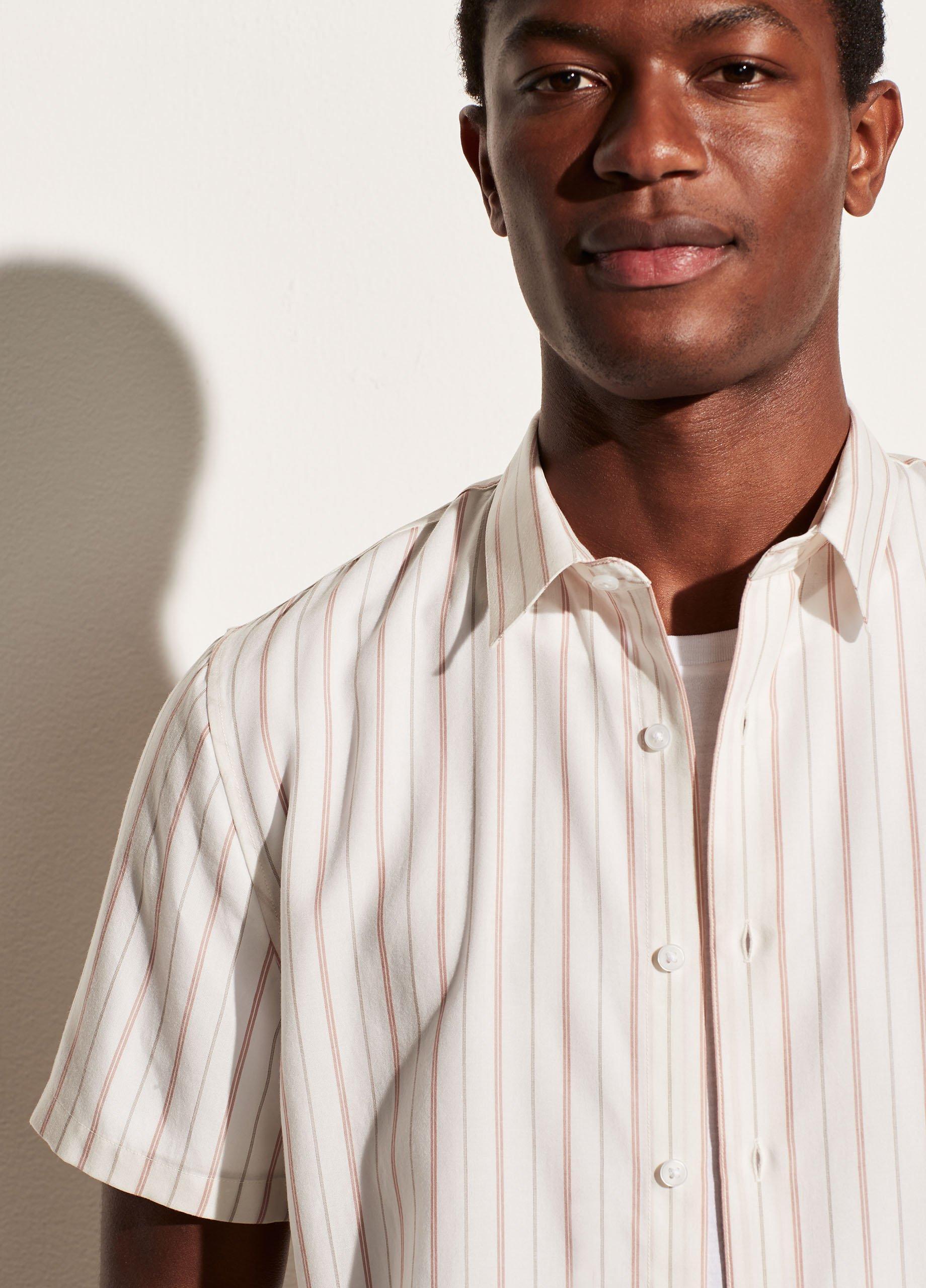 Pinstripe Short Sleeve