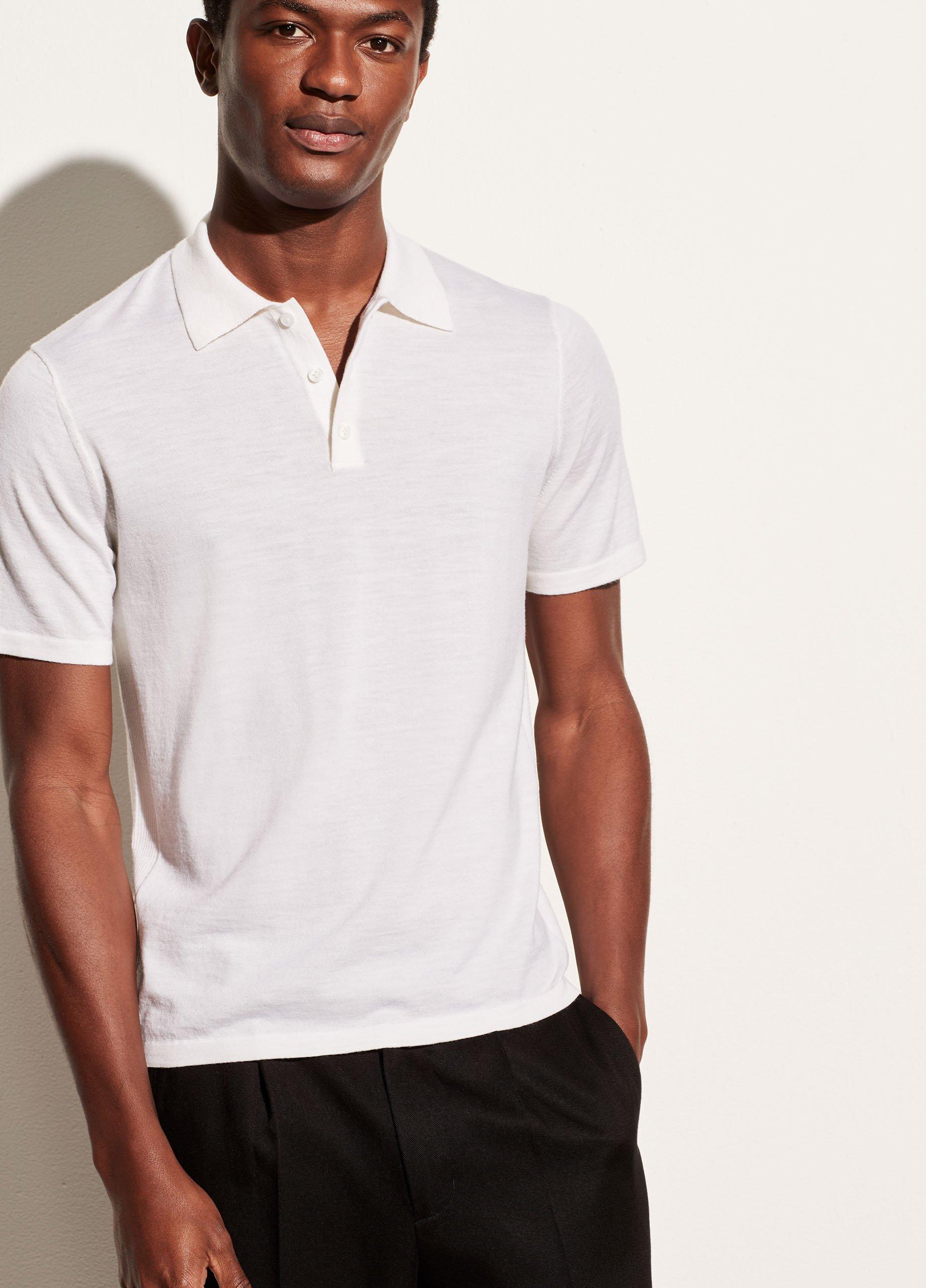 Merino Short Sleeve Polo