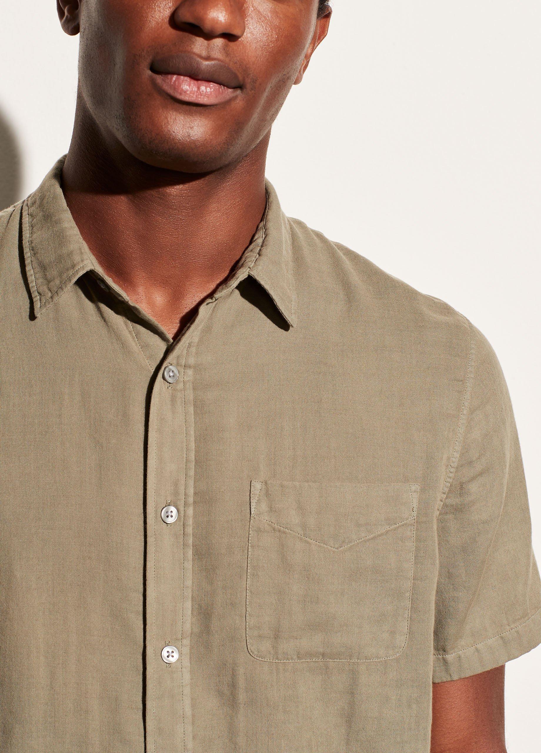 Garment Dye Double Face Short Sleeve