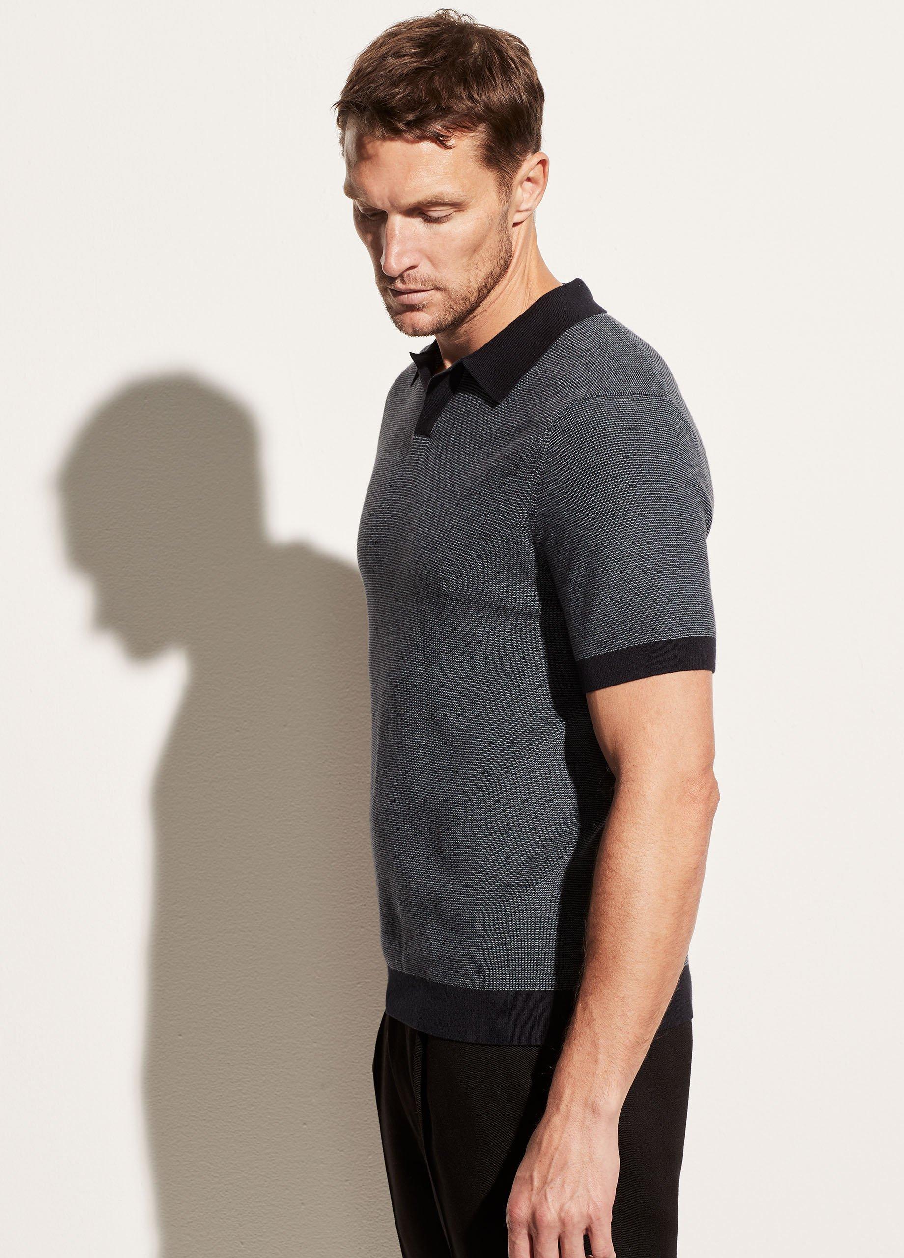 Johnny Collar Short Sleeve