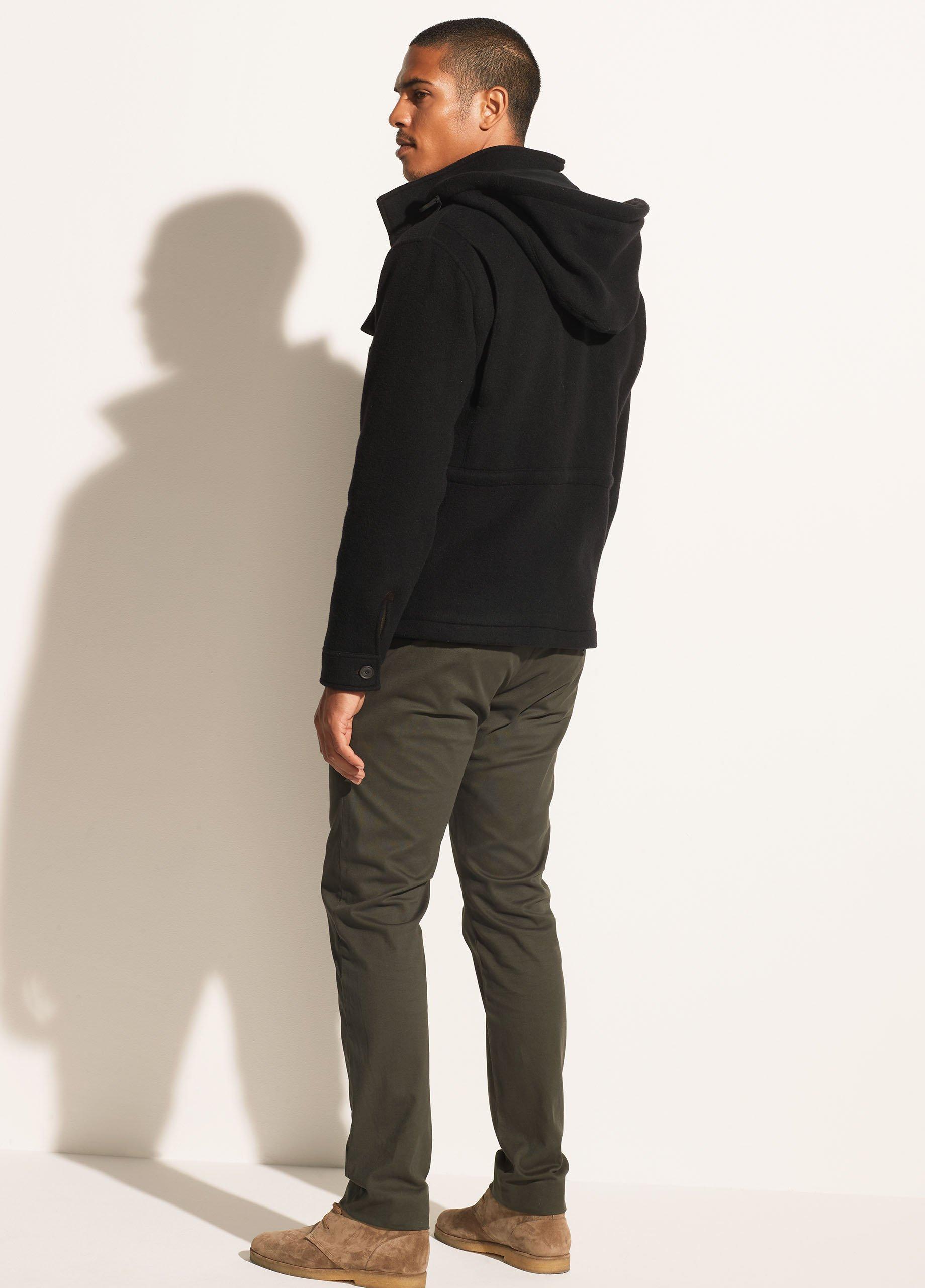 Wool Blend Field Jacket