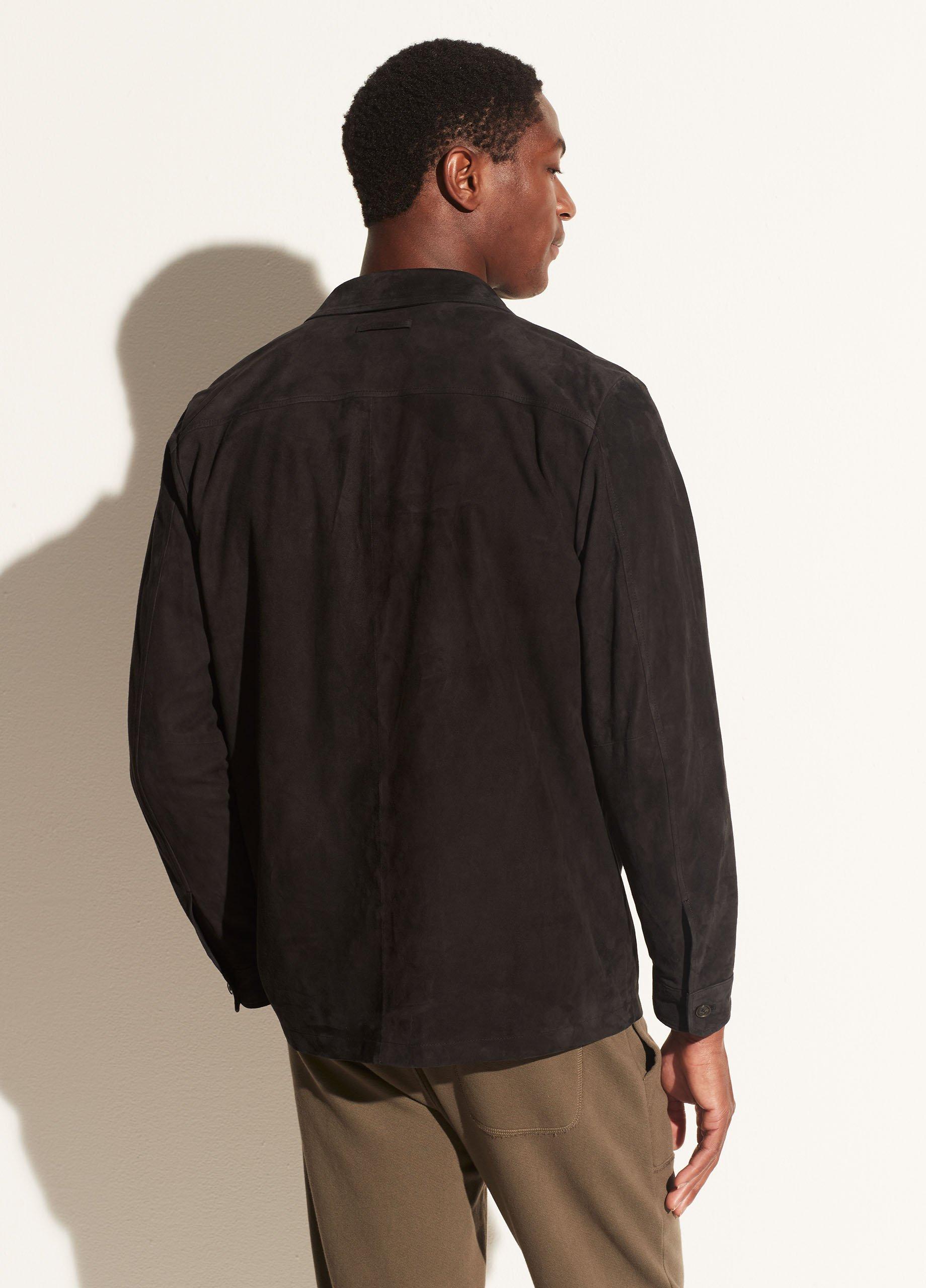 Soft Suede Overshirt