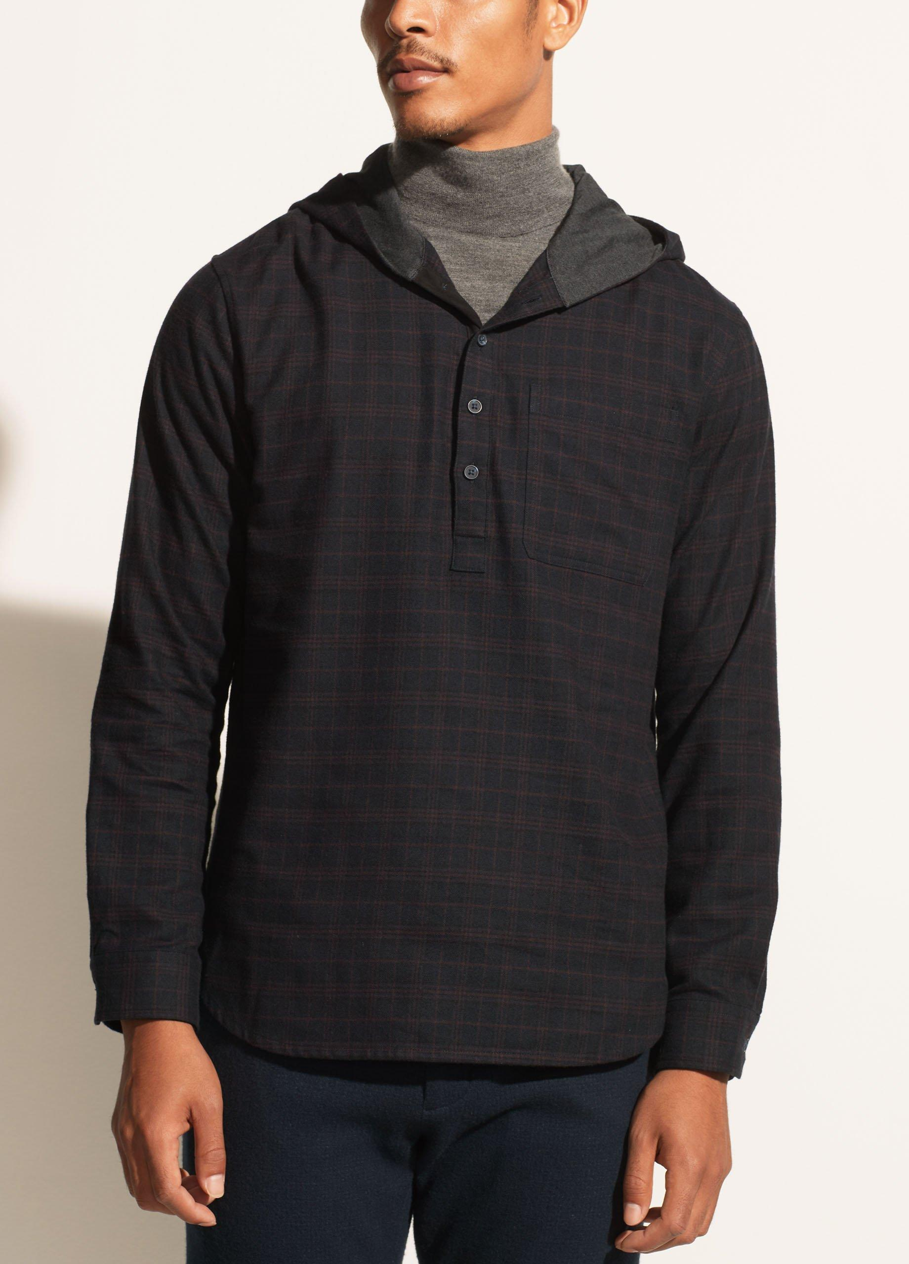 Highway Plaid Long Sleeve Pullover
