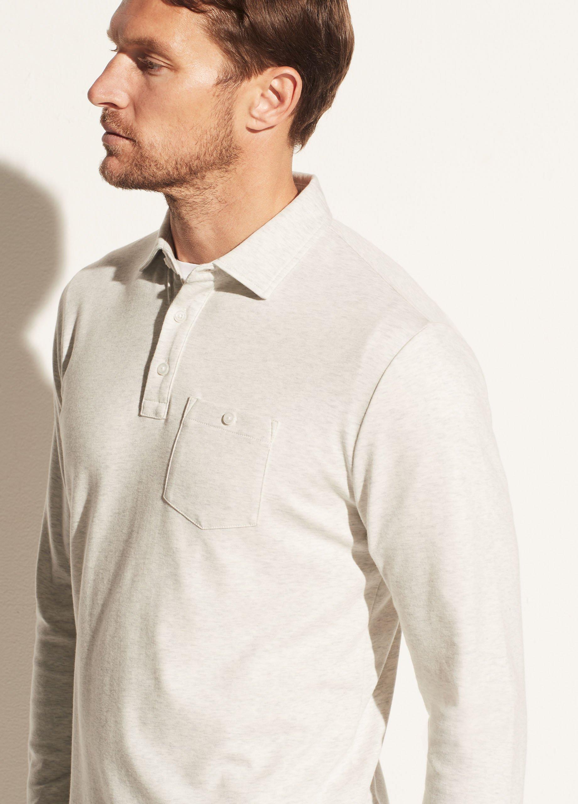 Refined Long Sleeve Polo