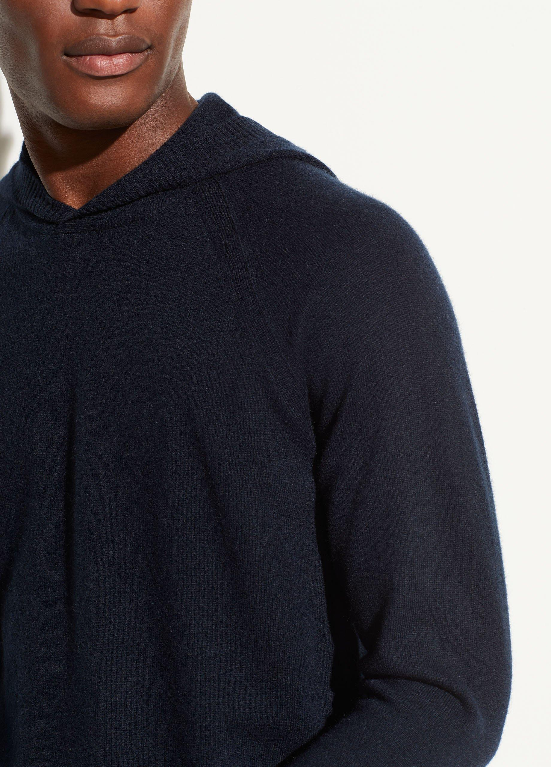Wool Cashmere Pullover Hoodie