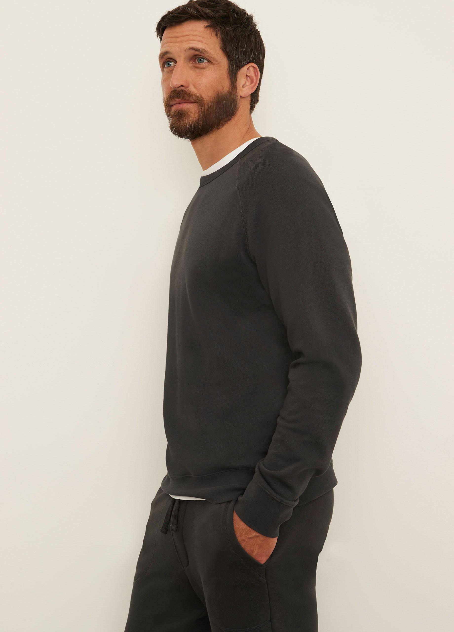 French Terry Long Sleeve Crew