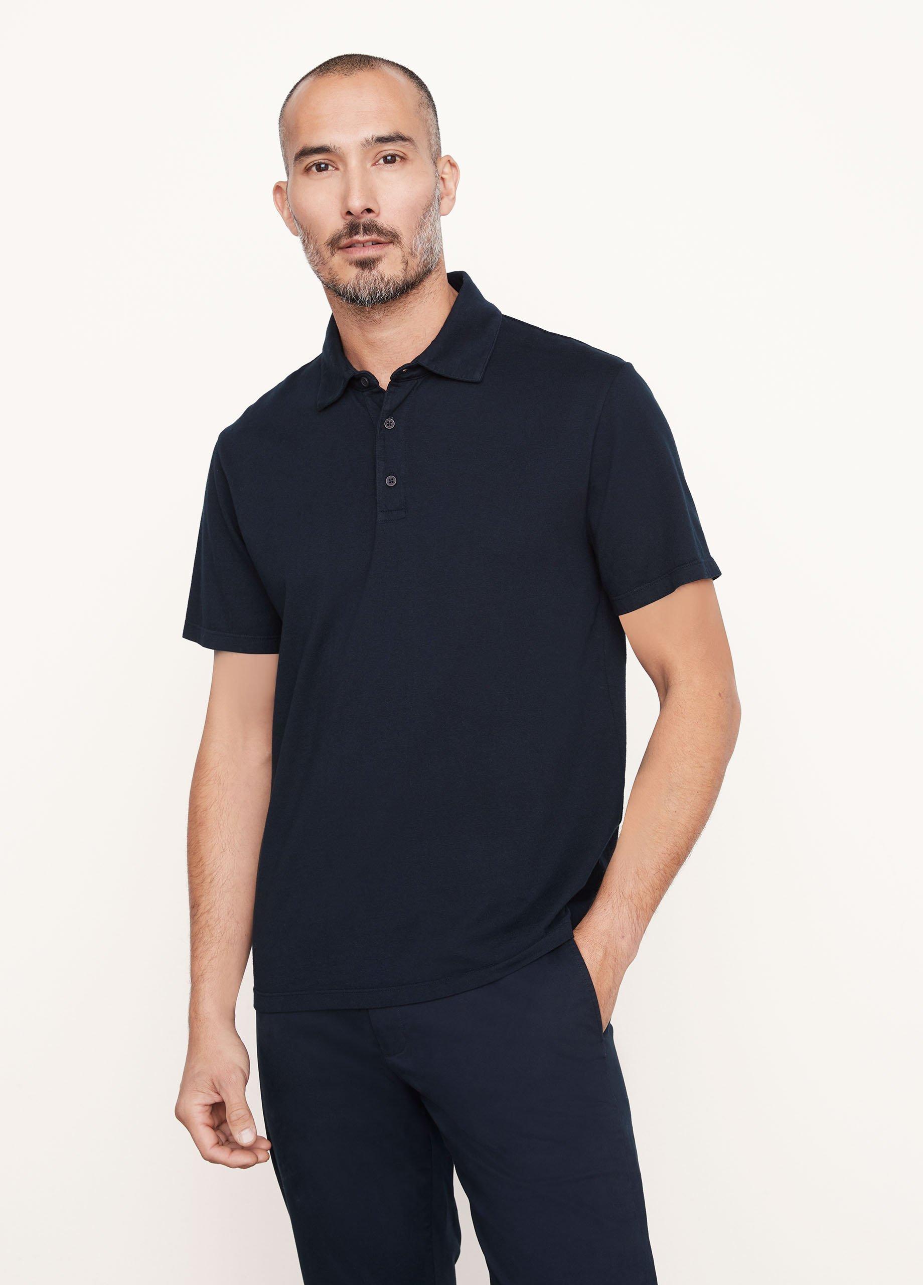 Garment Dye Short Sleeve Polo