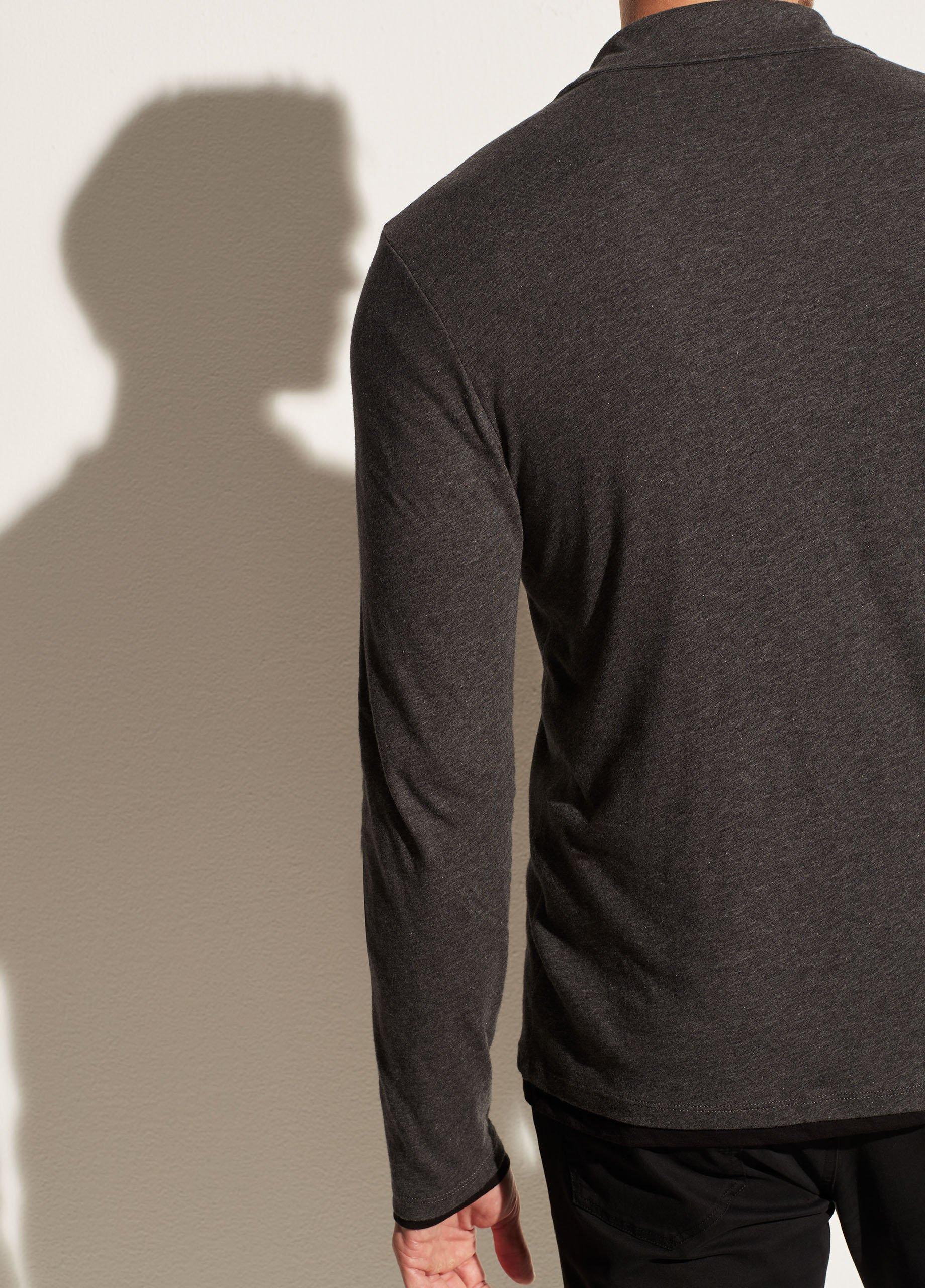 Double Layer Long Sleeve Polo