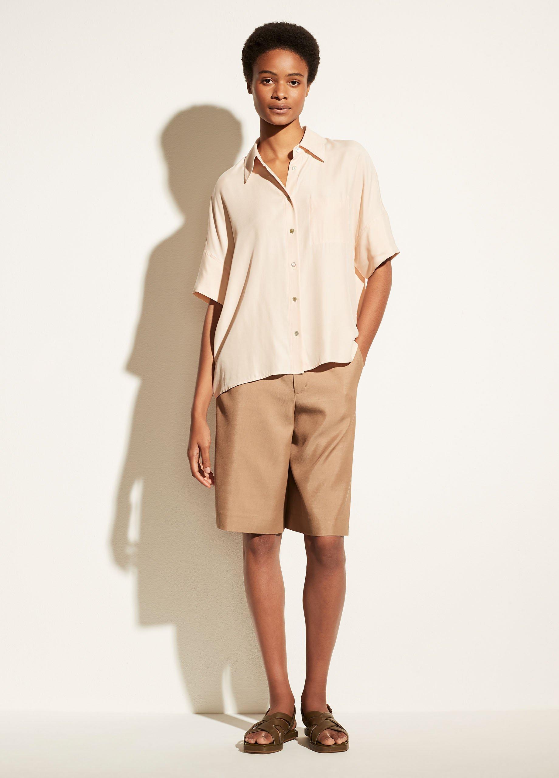 Utility Pocket Stitch Short Sleeve Shirt