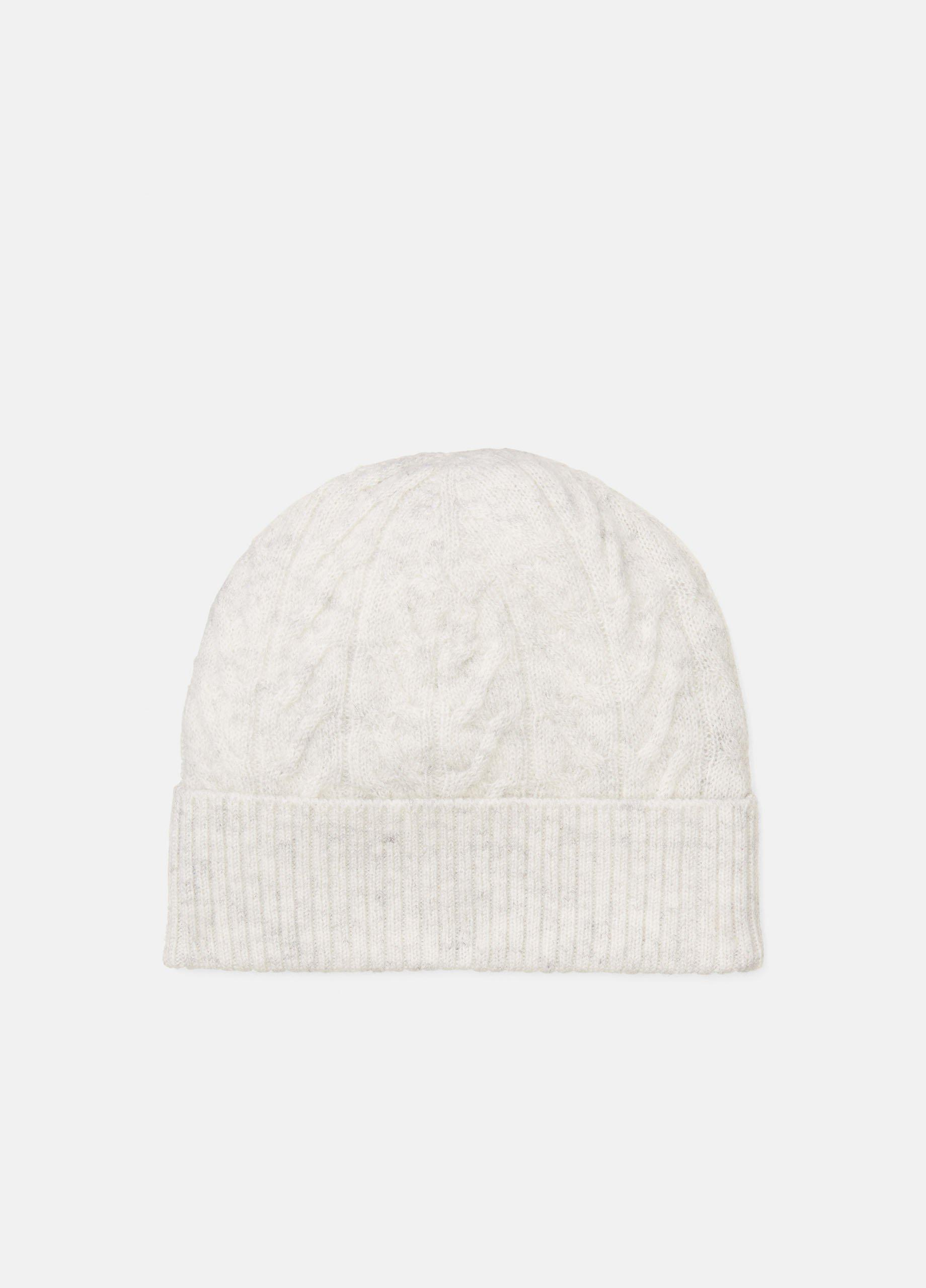 Baby Cashmere Cable Beanie