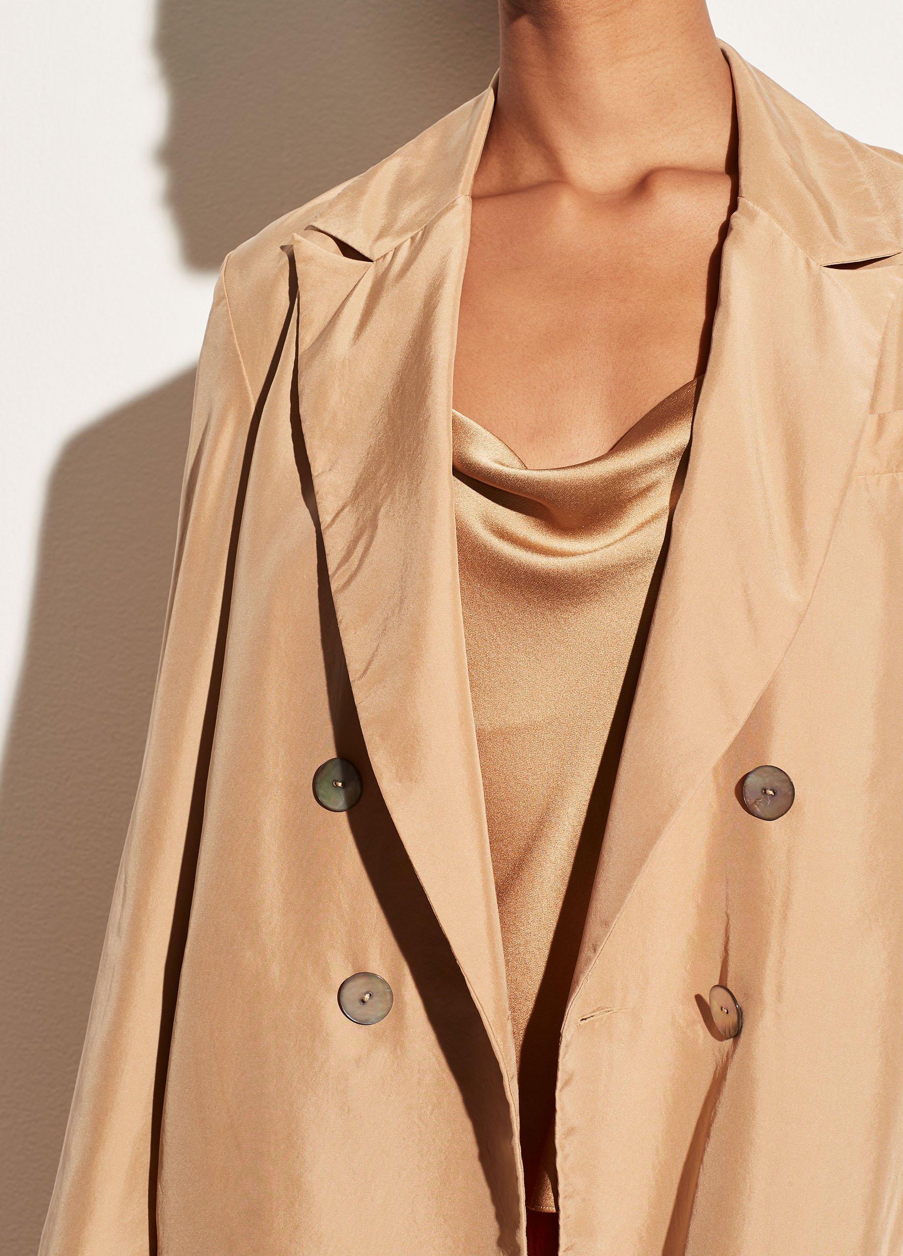 Drapey Silk Culotte